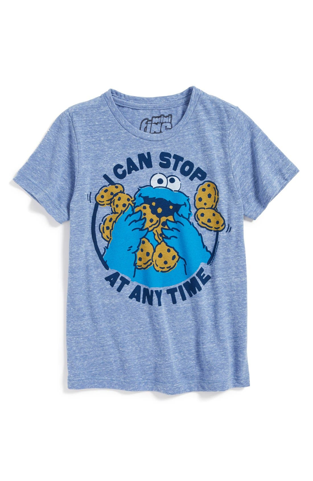 Alternate Image 1 Selected - Mighty Fine 'Cookie Monster™' T-Shirt (Toddler Boys)