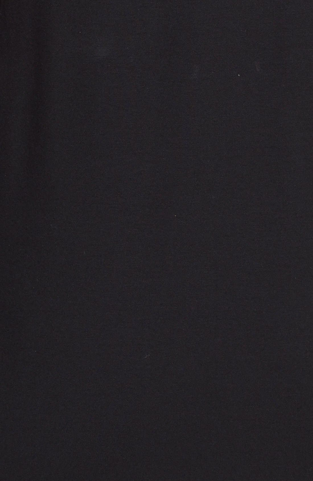 Alternate Image 3  - Eileen Fisher Scoop Neck Jersey Dress (Regular & Petite)