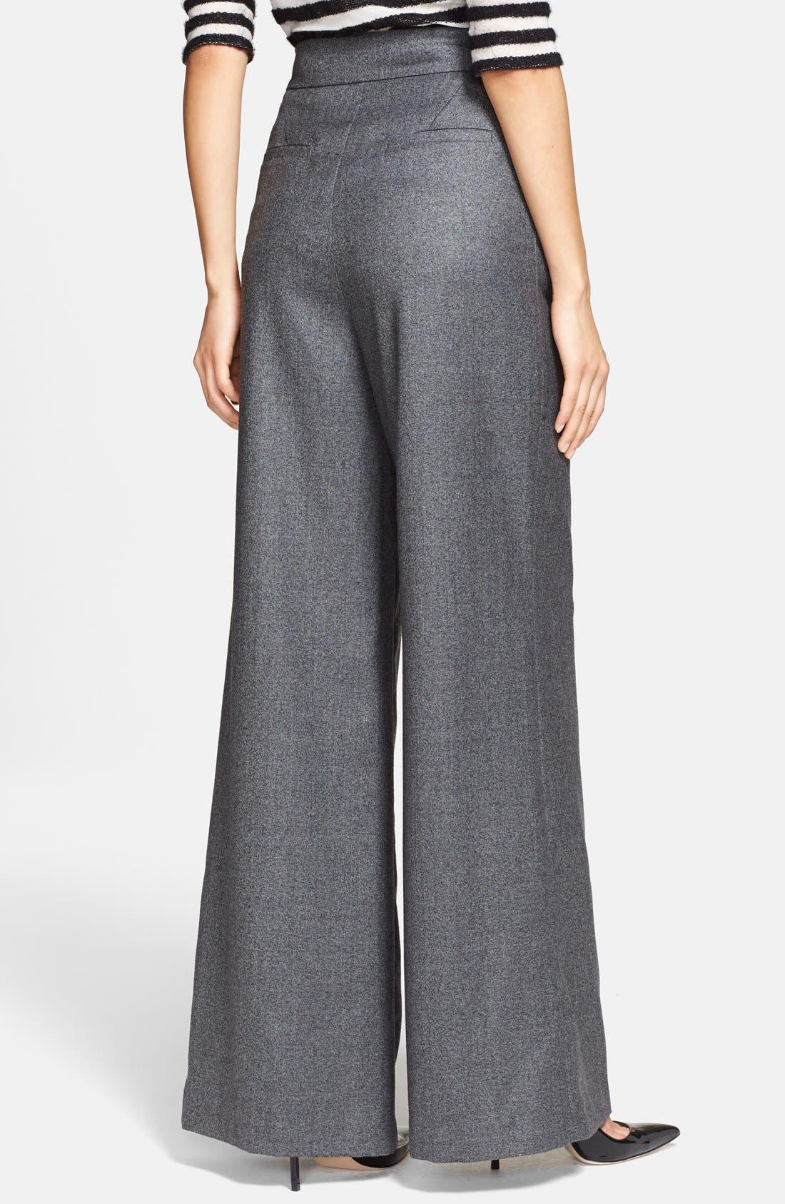 Alternate Image 2  - Rachel Zoe 'Alessia' Wide Leg Trousers