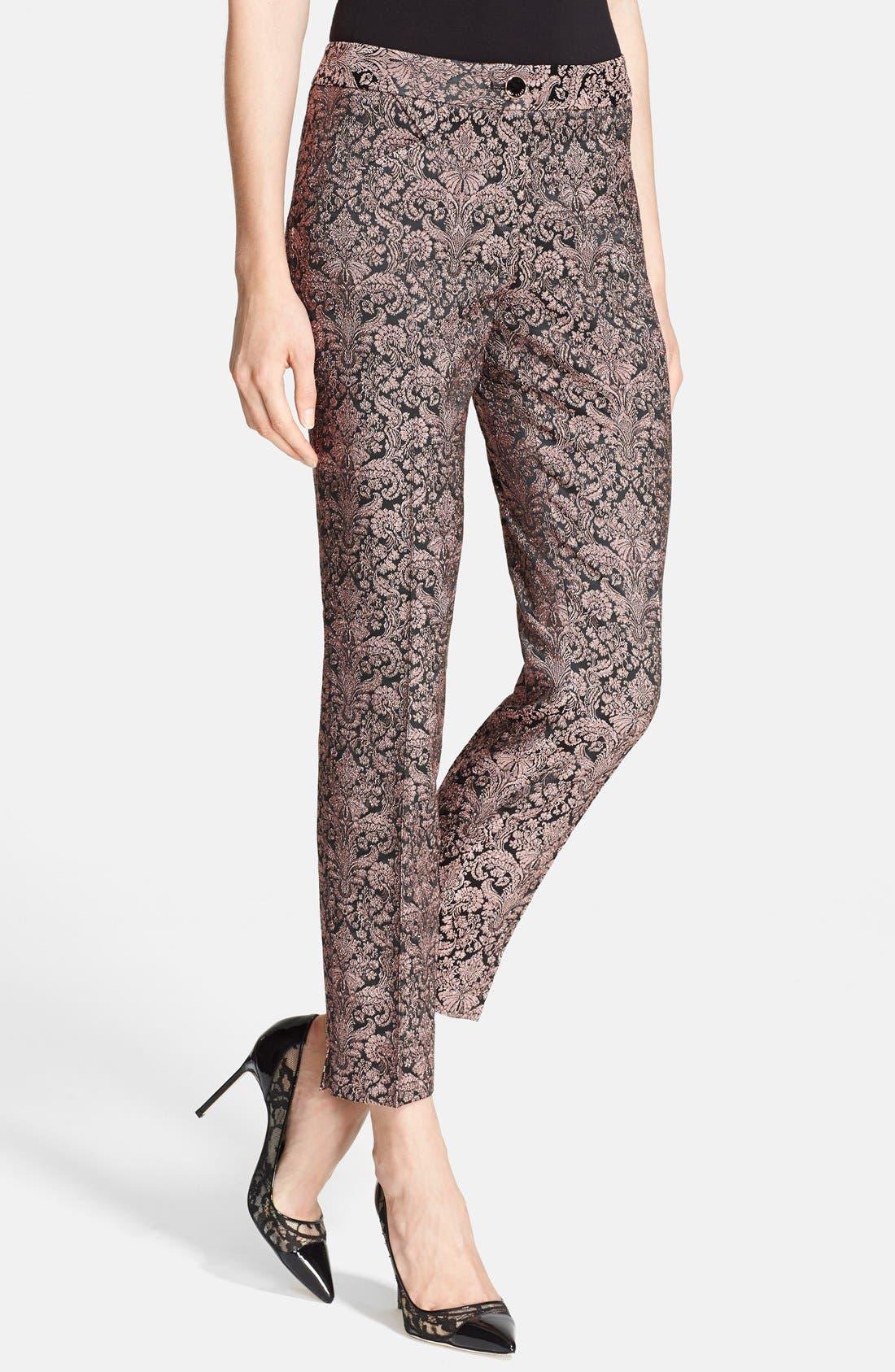 Alternate Image 1 Selected - Ted Baker London Jacquard Trousers