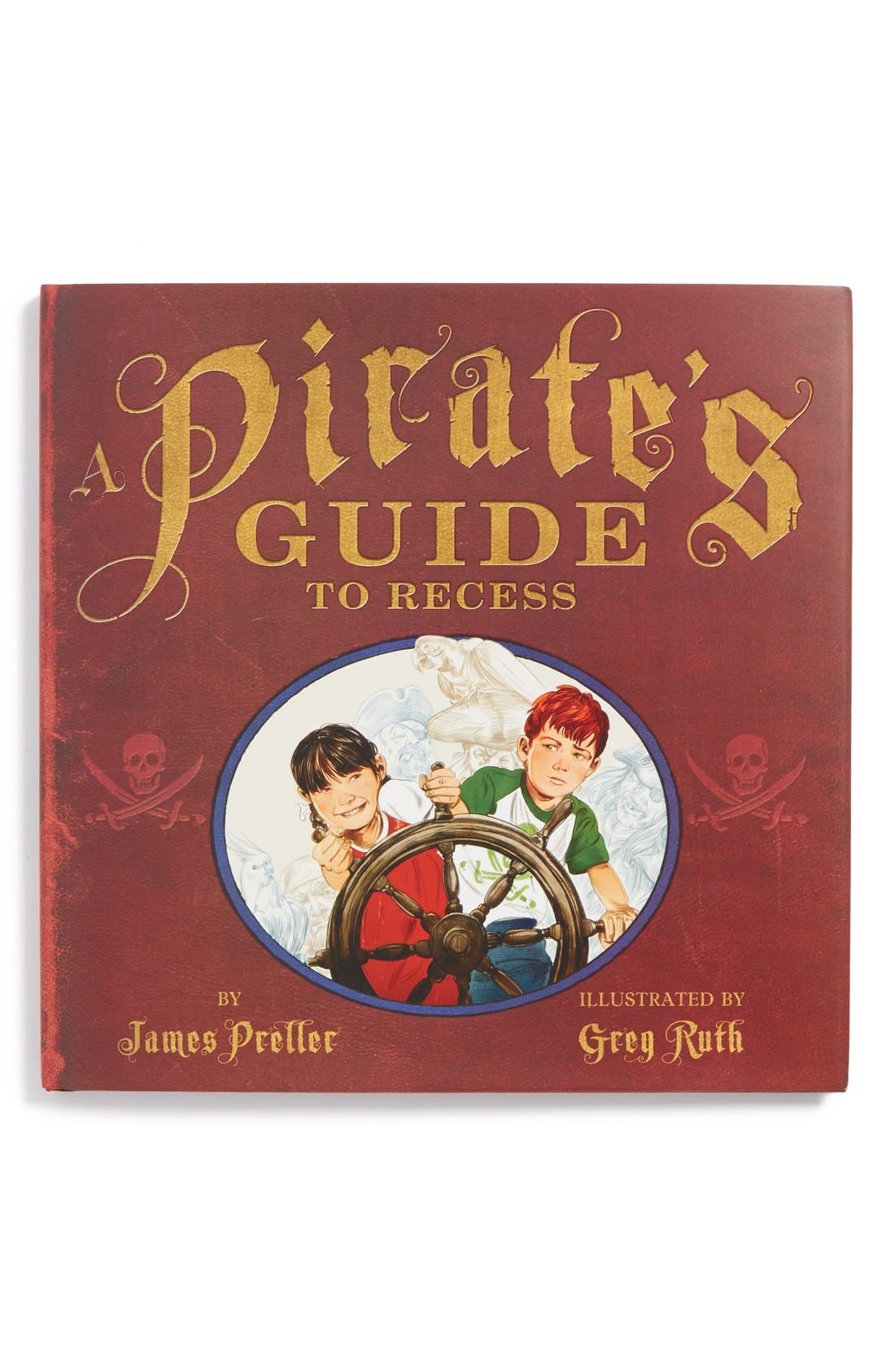 Main Image - 'A Pirate's Guide to Recess' Book