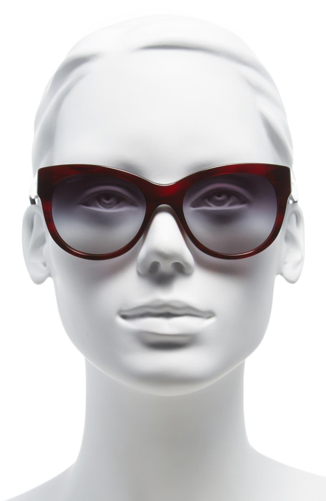 Alternate Image 2  - Burberry 'Phantos' 53mm Sunglasses
