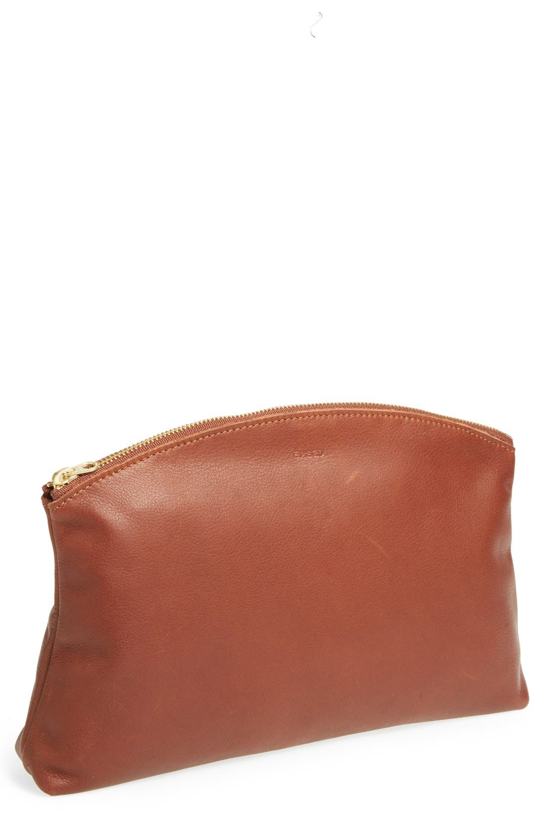 Alternate Image 1 Selected - Baggu® Leather Clutch