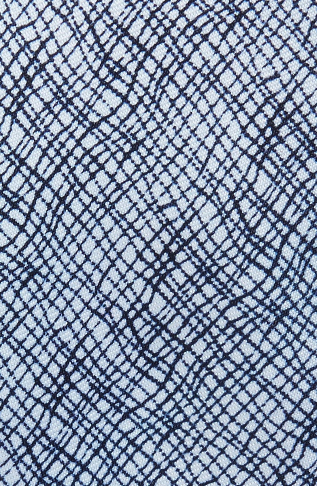 Alternate Image 2  - Topman Crosshatch Pattern Tie