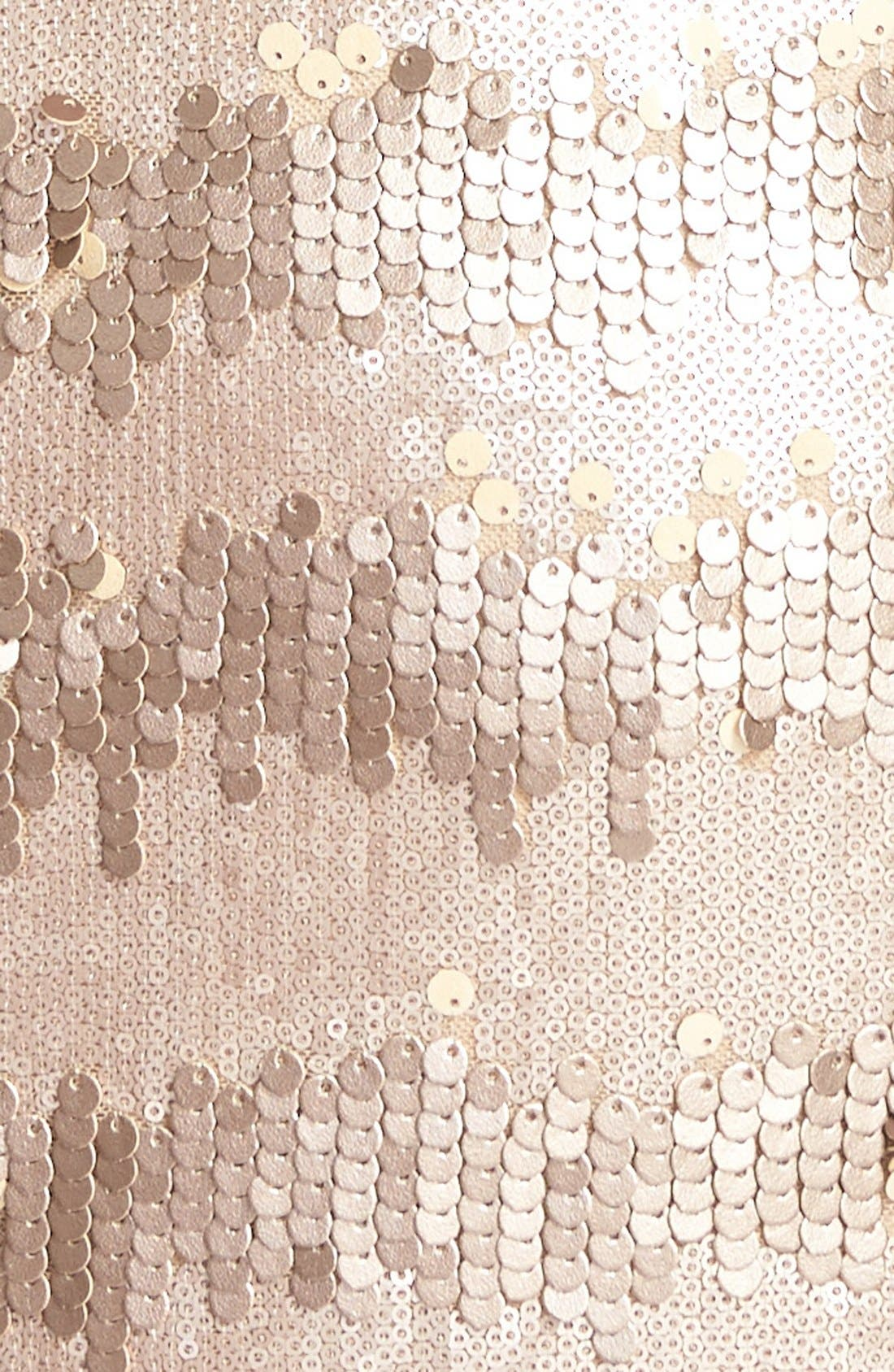 Alternate Image 4  - Adrianna Papell Sequin Sheath Dress