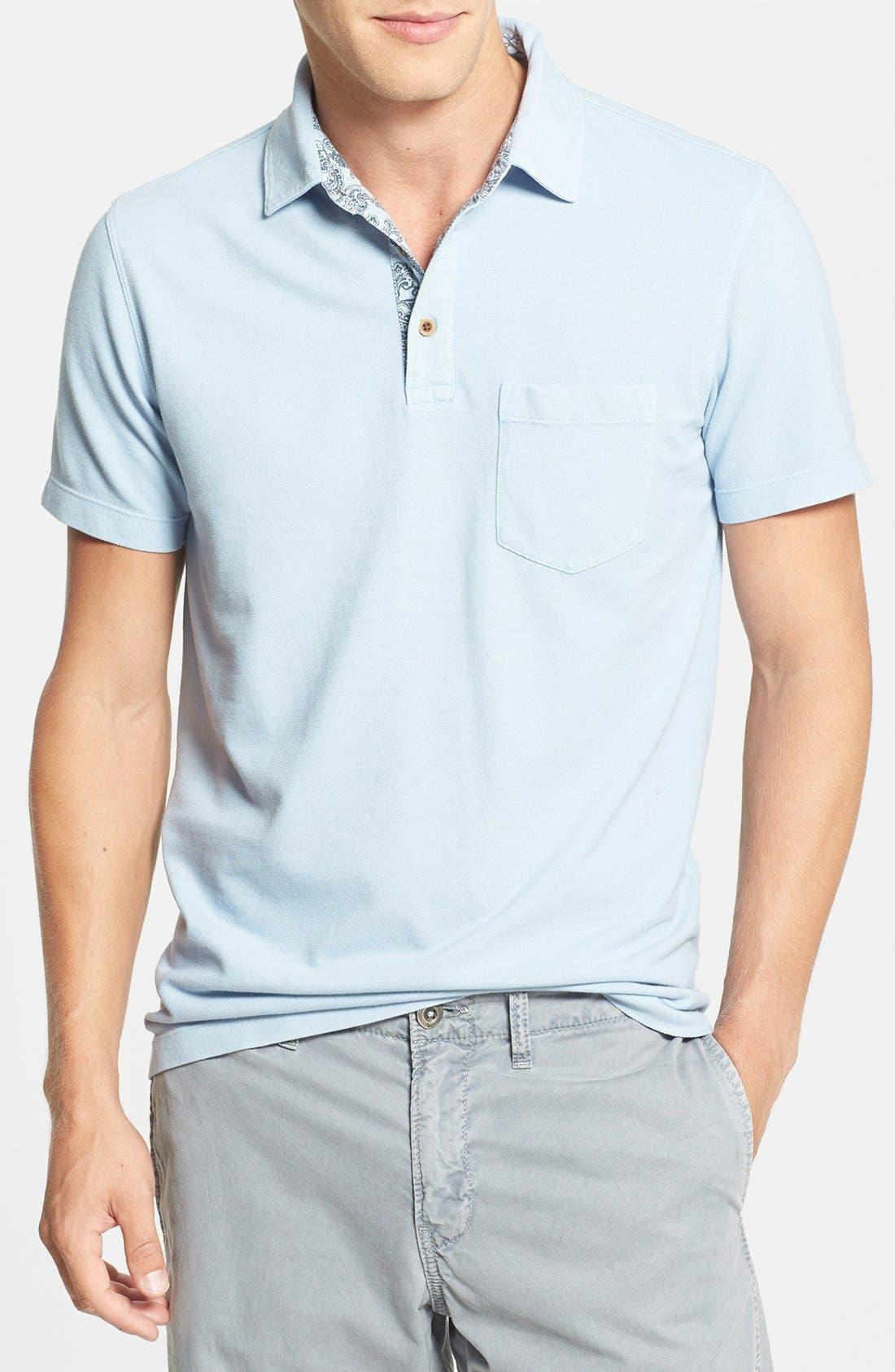 Main Image - Tailor Vintage Regular Fit Piqué Cotton Polo