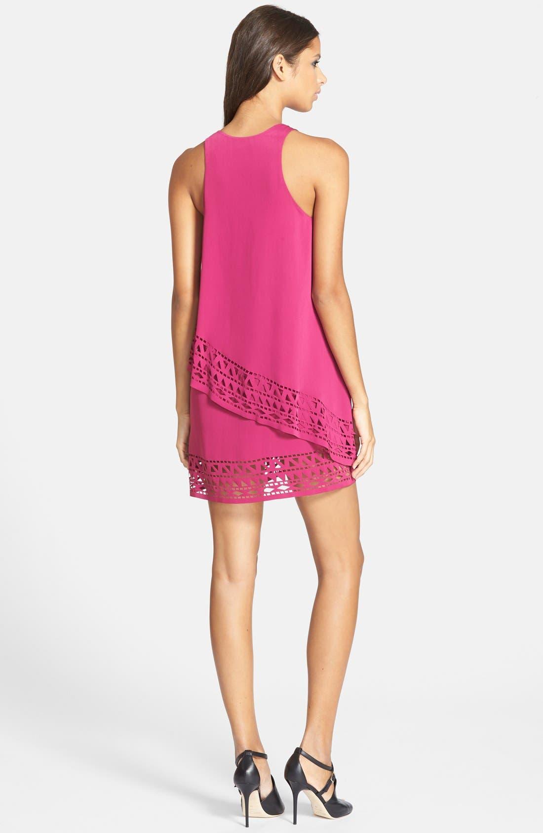 Alternate Image 2  - Jarlo 'Chloe' Tiered Jersey Trapeze Dress