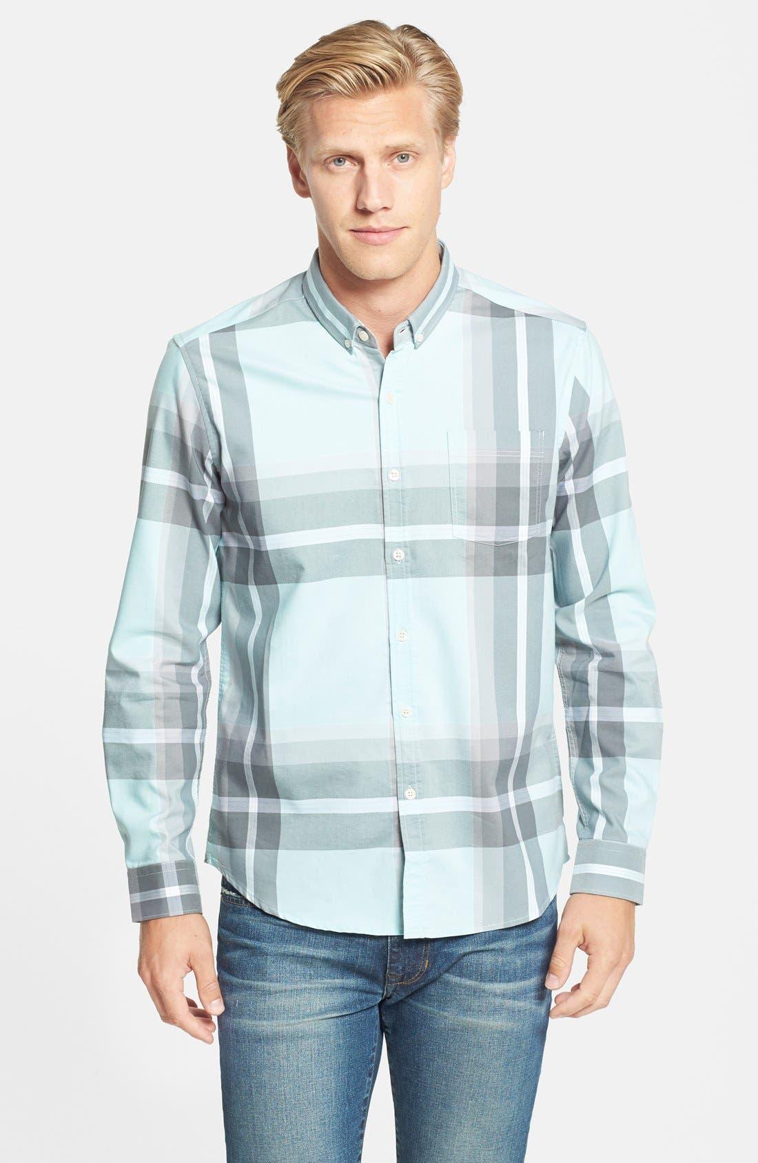 Alternate Image 1 Selected - 7 Diamonds 'Brighton Beach' Plaid Woven Shirt
