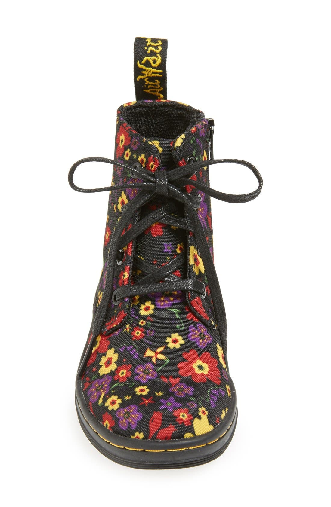 Alternate Image 3  - Dr. Martens 'Laney' Floral Print Canvas Boot (Walker & Toddler)