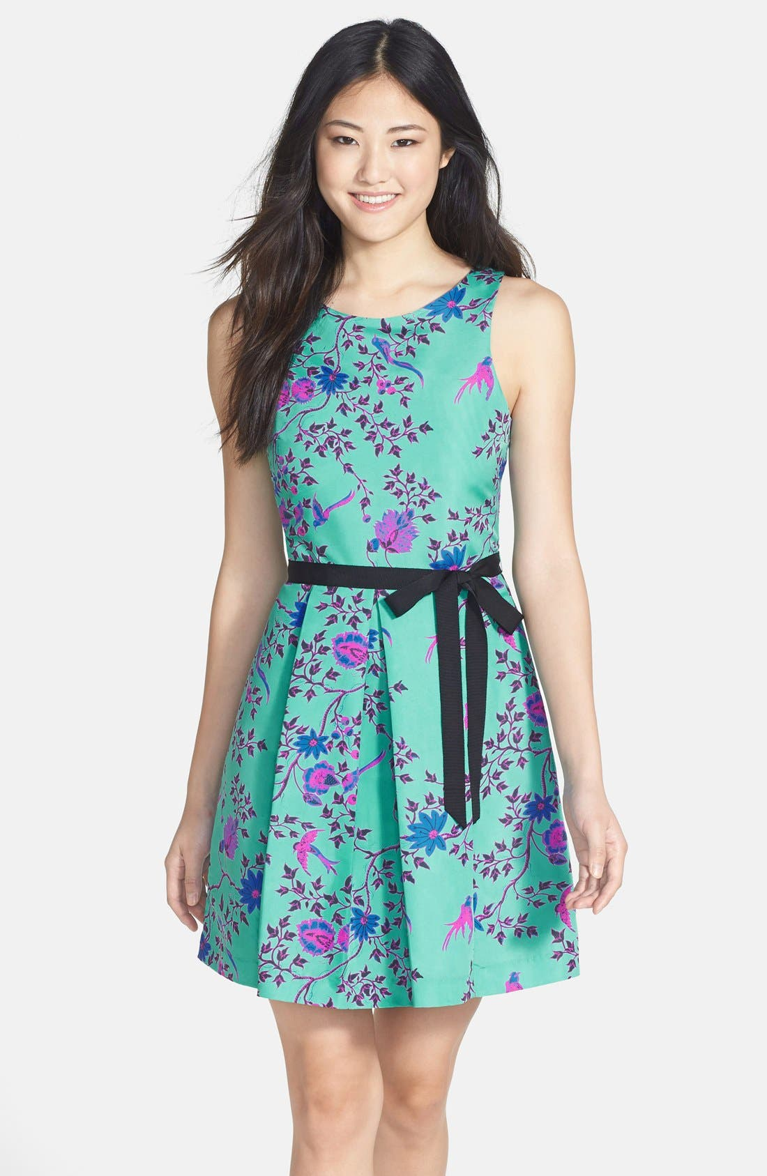 Alternate Image 1 Selected - Plenty by Tracy Reese Print Faille Fit & Flare Dress