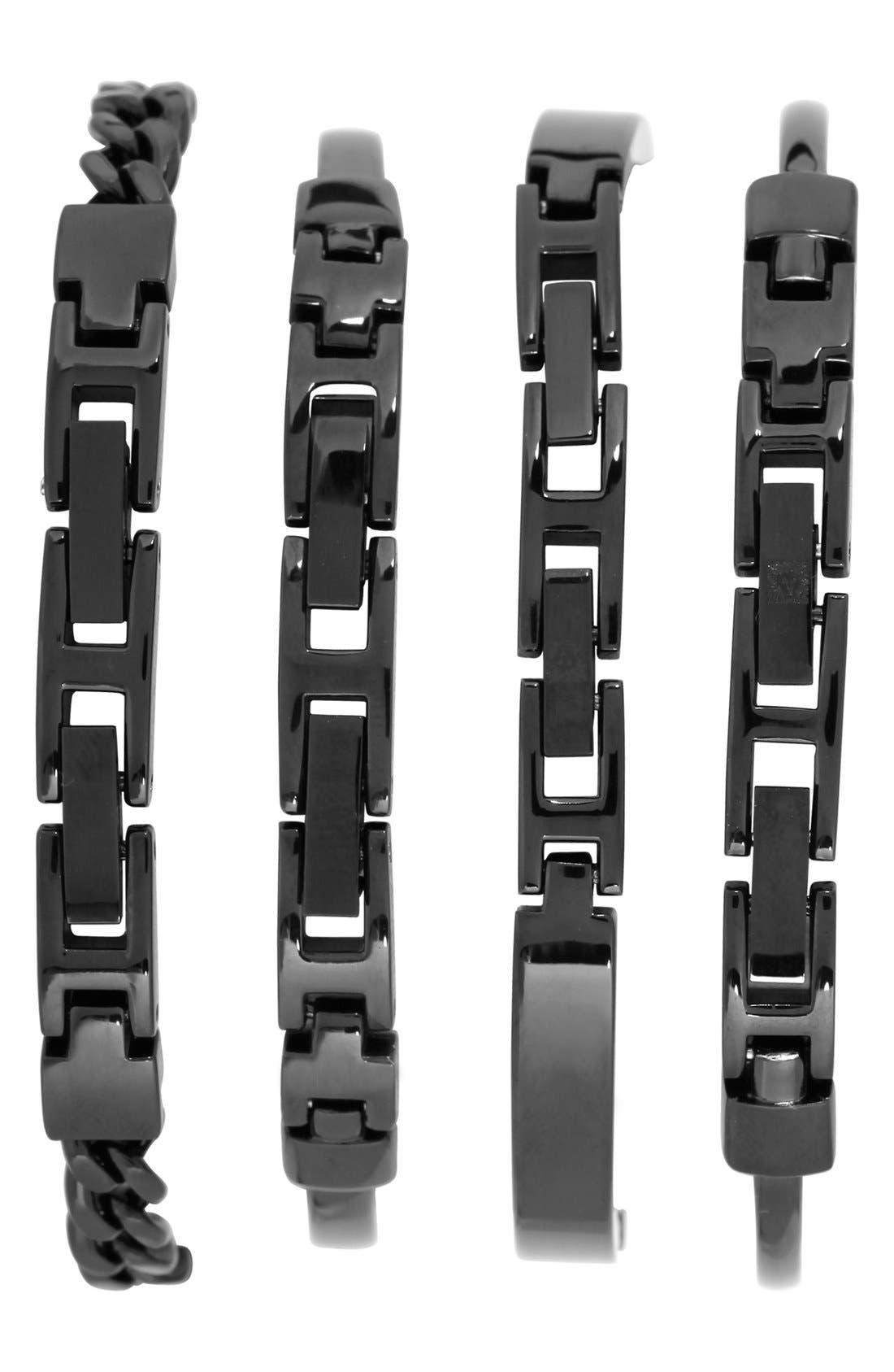 Alternate Image 2  - Anne Klein Boxed Bracelet & Bangle Watch Set, 32mm