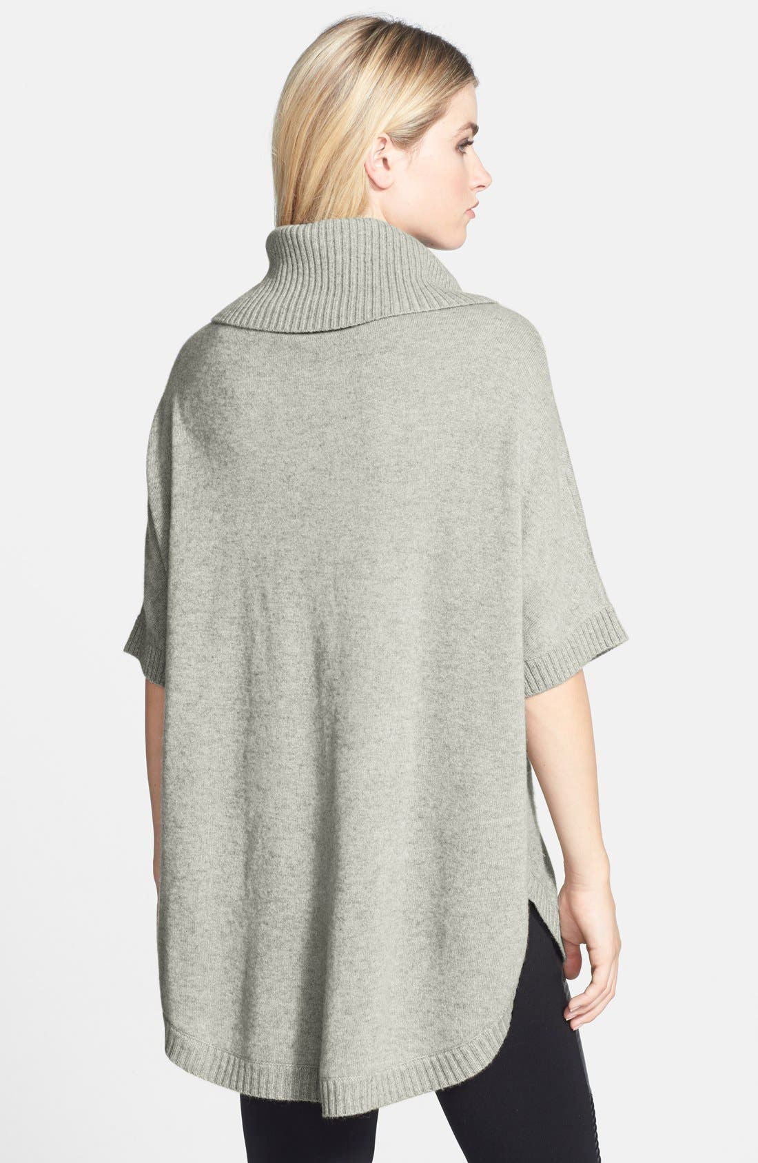 Alternate Image 2  - Nordstrom Collection Cashmere Poncho