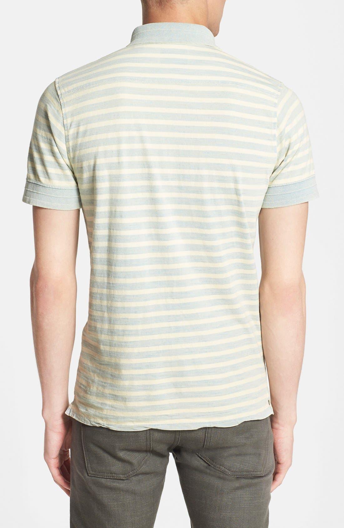 Alternate Image 3  - Scotch & Soda Stripe Jersey Polo