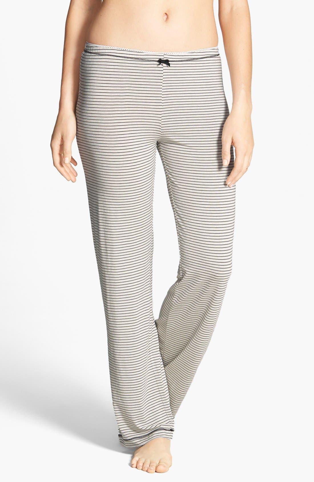 Alternate Image 1 Selected - kensie 'Seasonal Keepers' Print Pajama Pants