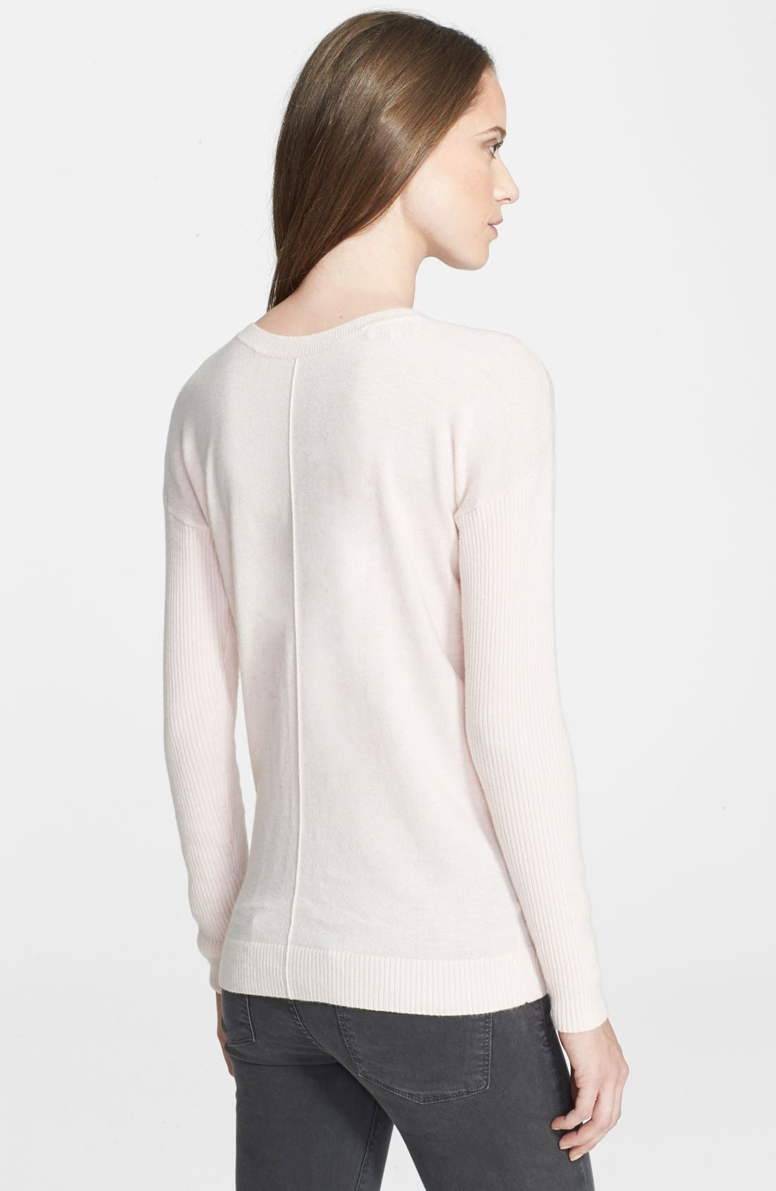 Alternate Image 3  - Ted Baker London 'Violety' Zip Front Sweater