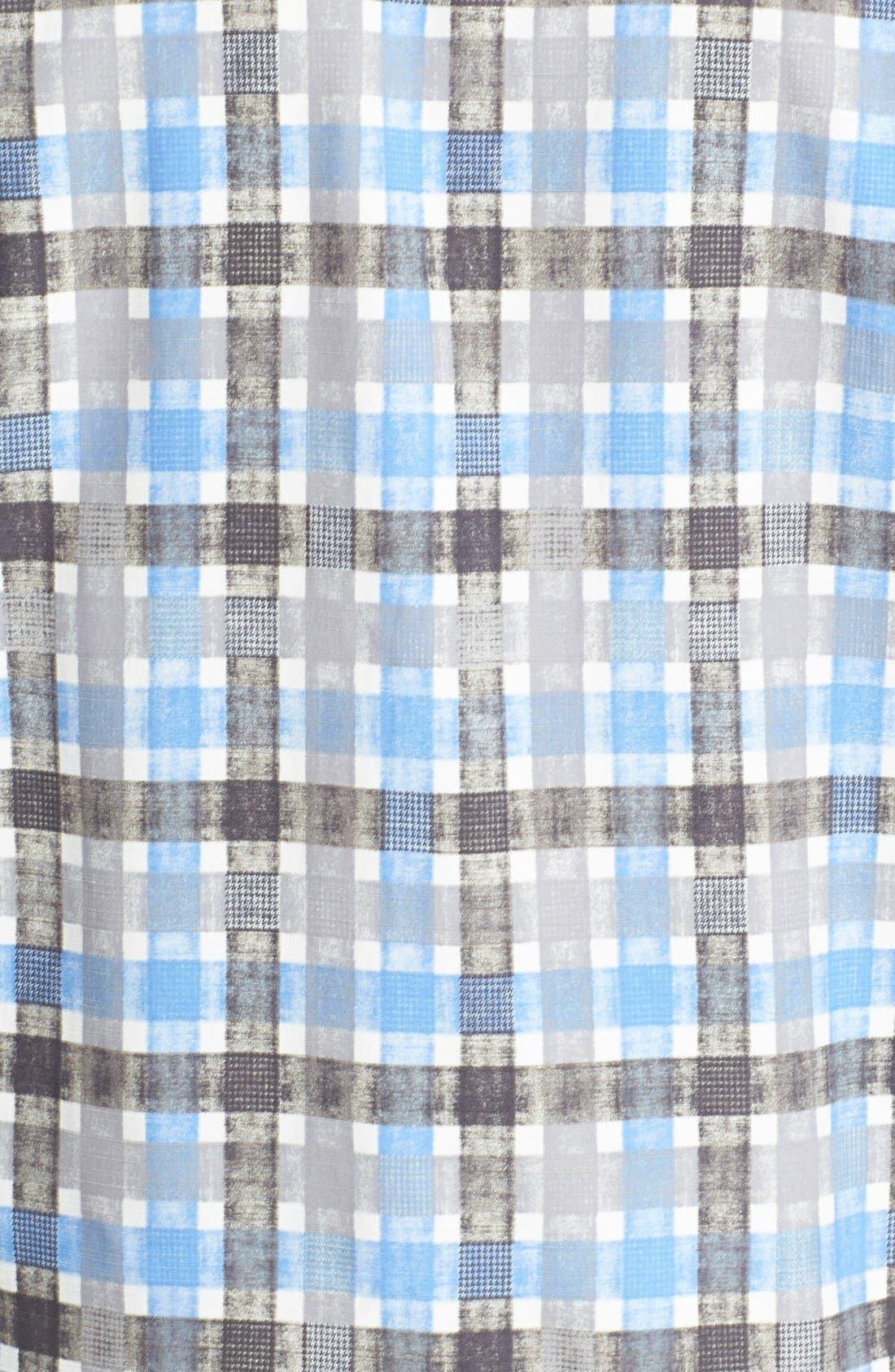 Alternate Image 3  - Tommy Bahama 'Plaid Impressions' Island Modern Fit Silk & Cotton Camp Shirt