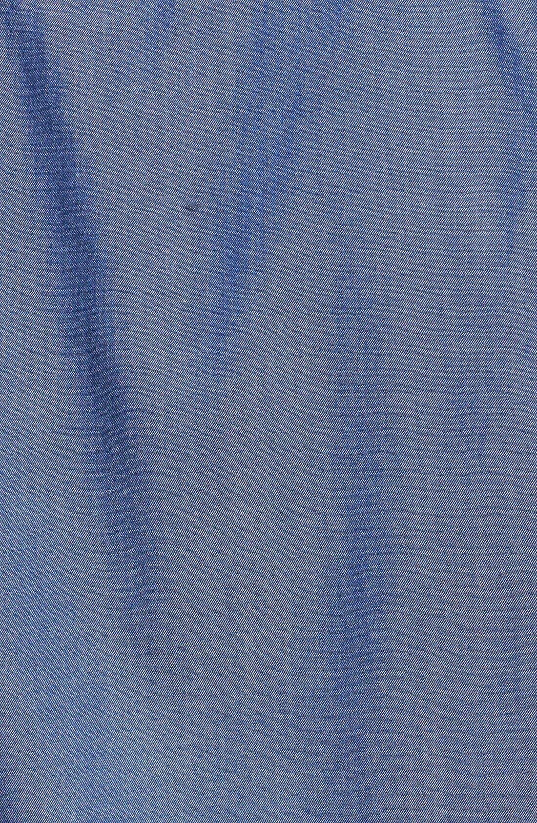 Alternate Image 3  - BOSS HUGO BOSS 'Robbie' Slim Fit Sport Shirt