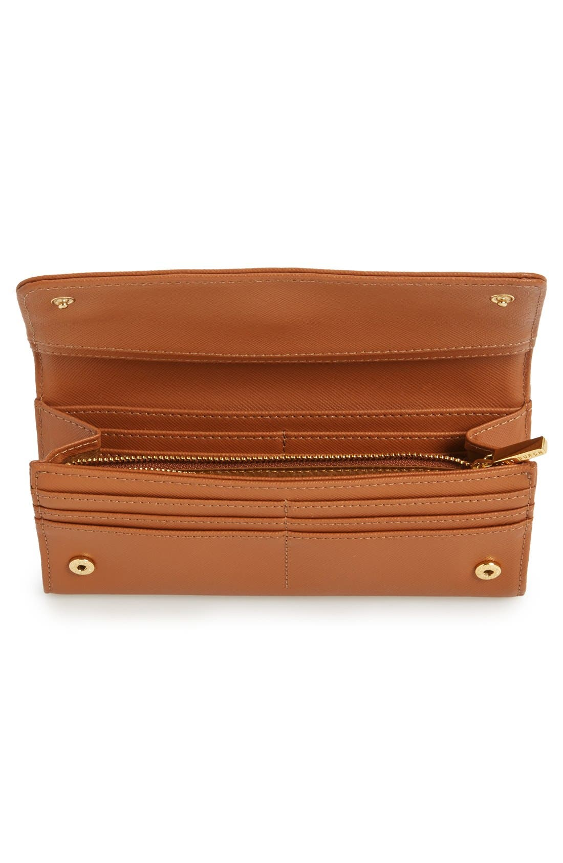 Alternate Image 2  - Tory Burch 'Robinson' Envelope Continental Wallet
