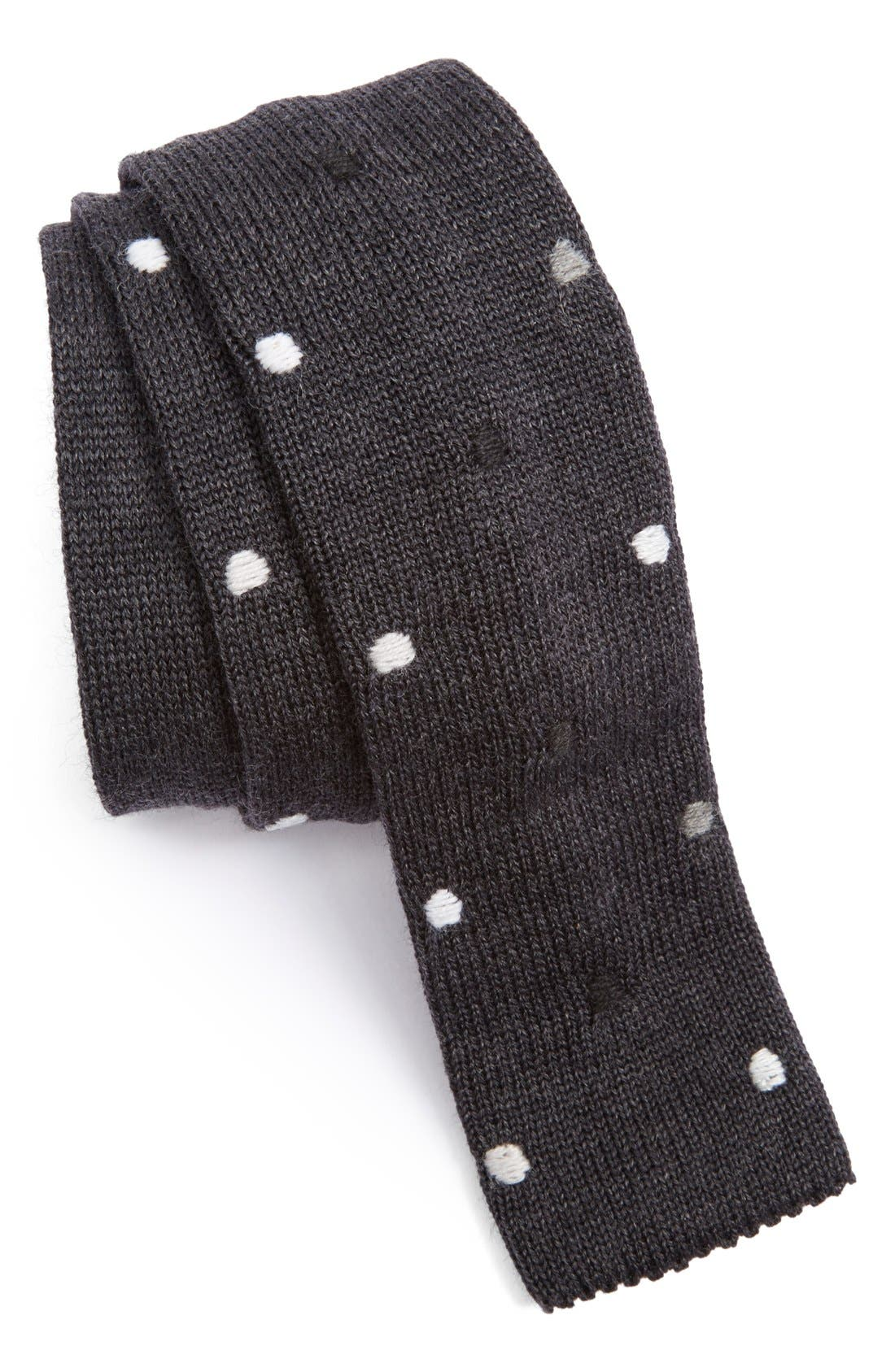 Alternate Image 1 Selected - Paul Smith Knit Wool Tie