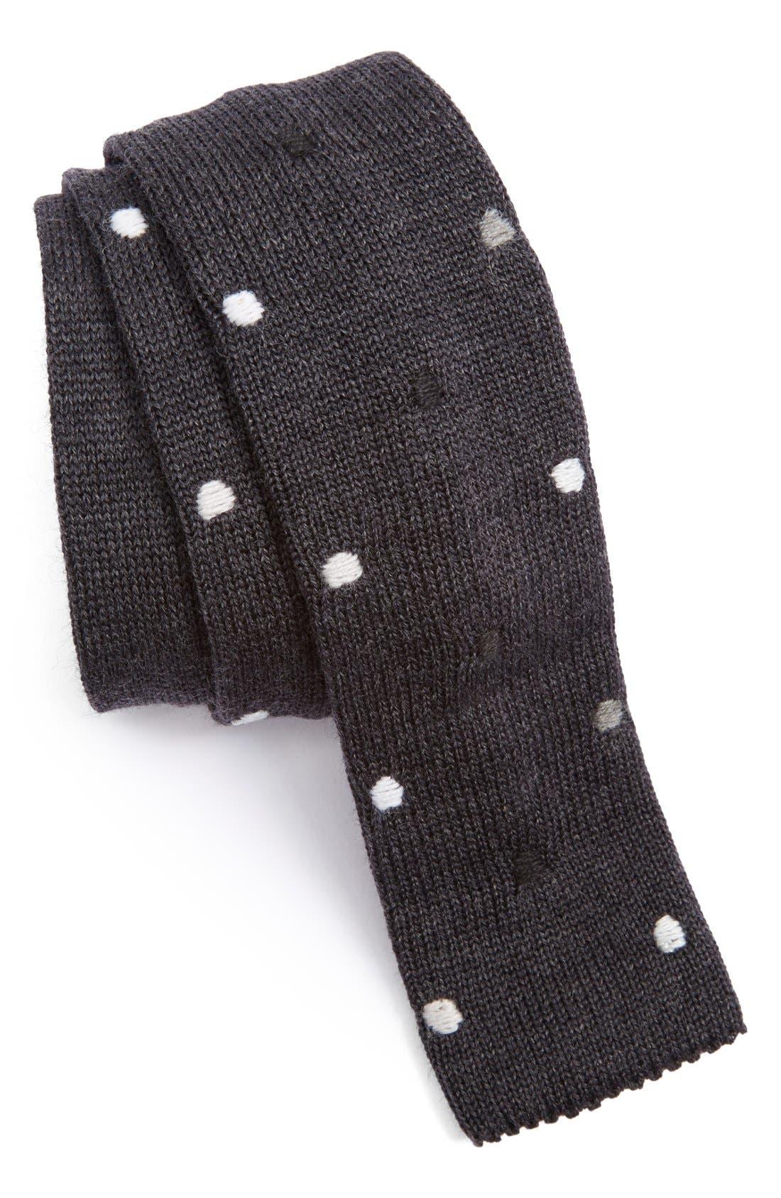 Main Image - Paul Smith Knit Wool Tie