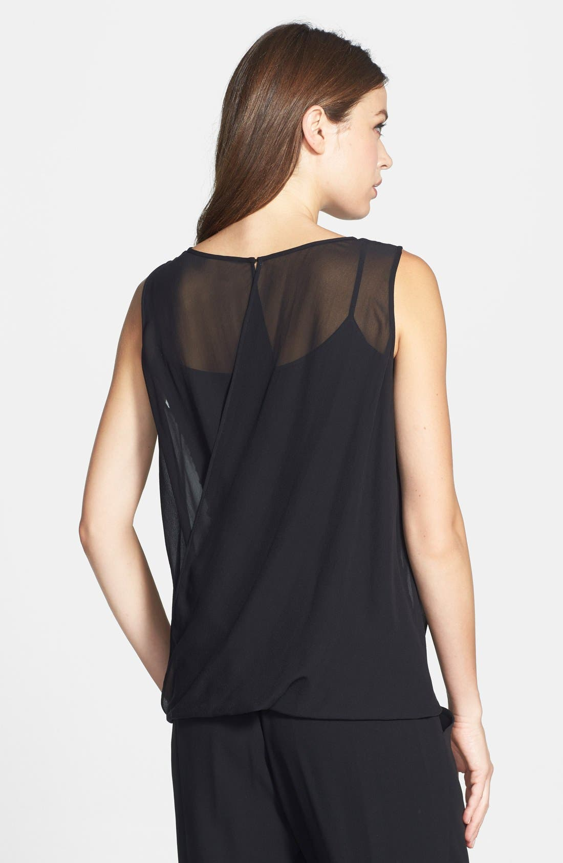 Alternate Image 2  - Eileen Fisher The Fisher Project Sheer Silk Georgette Tank