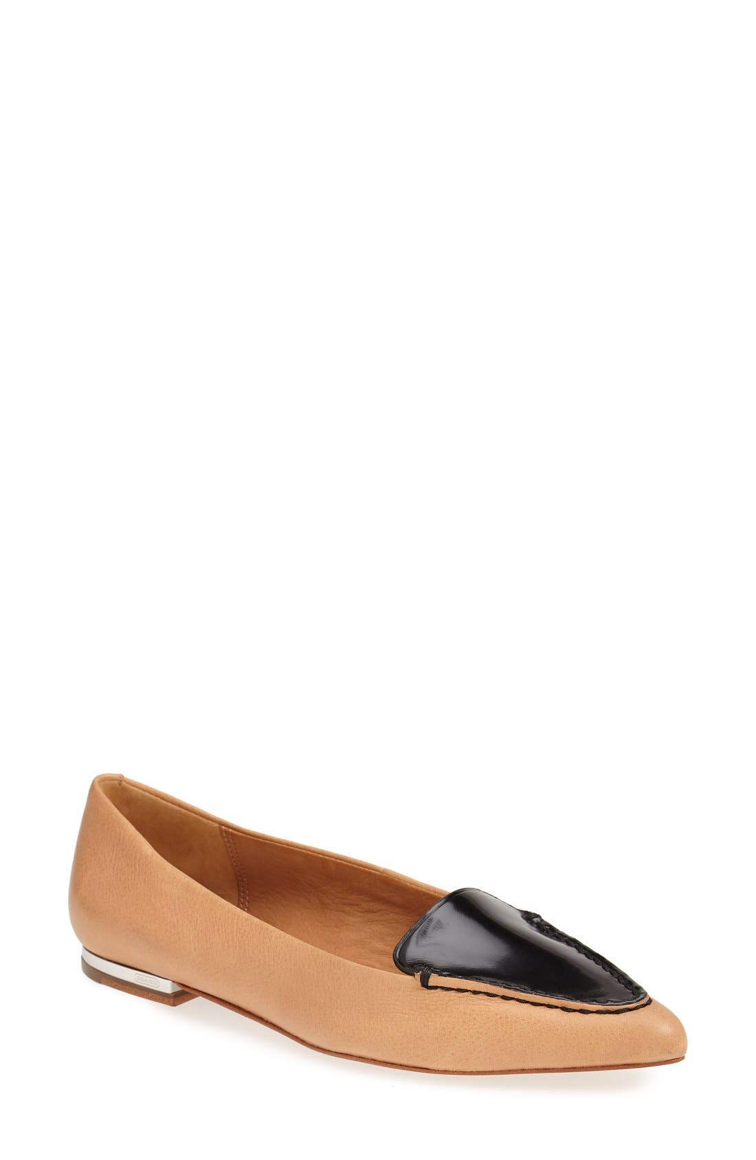 Alternate Image 1 Selected - COACH 'Walsh' Leather Loafer (Women)