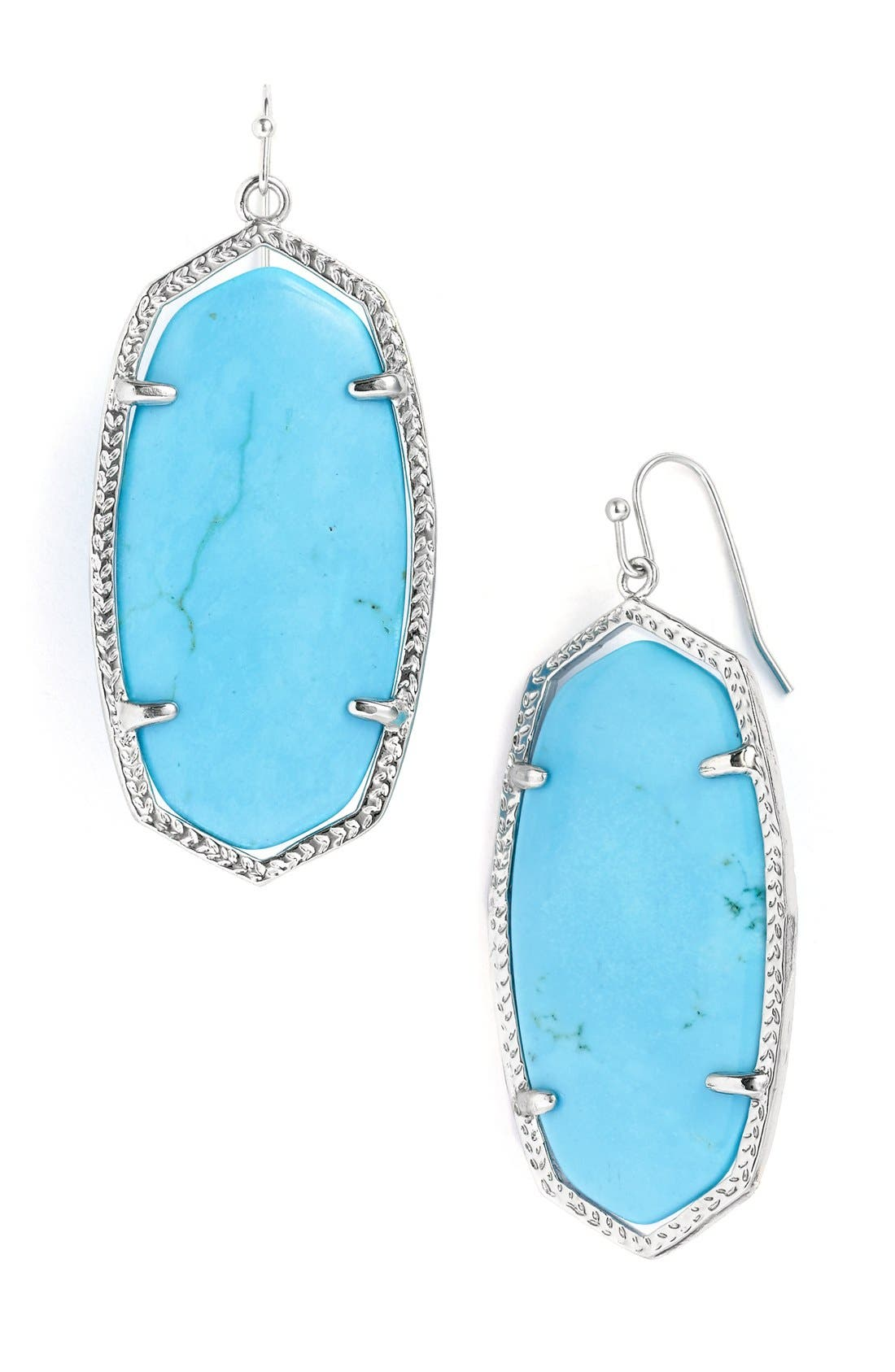 Alternate Image 1 Selected - Kendra Scott 'Danielle' Oval Statement Earrings