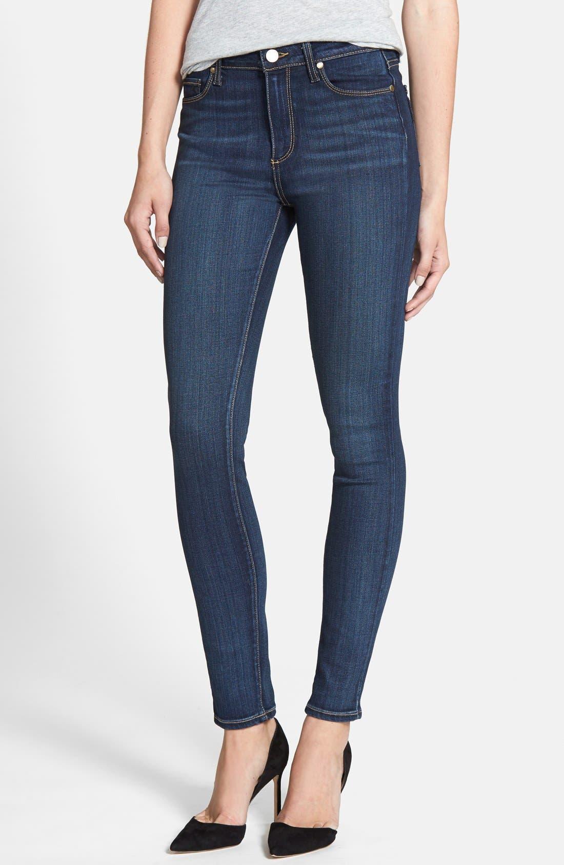 PAIGE Transcend - Hoxton High Waist Skinny Jeans (Vista)