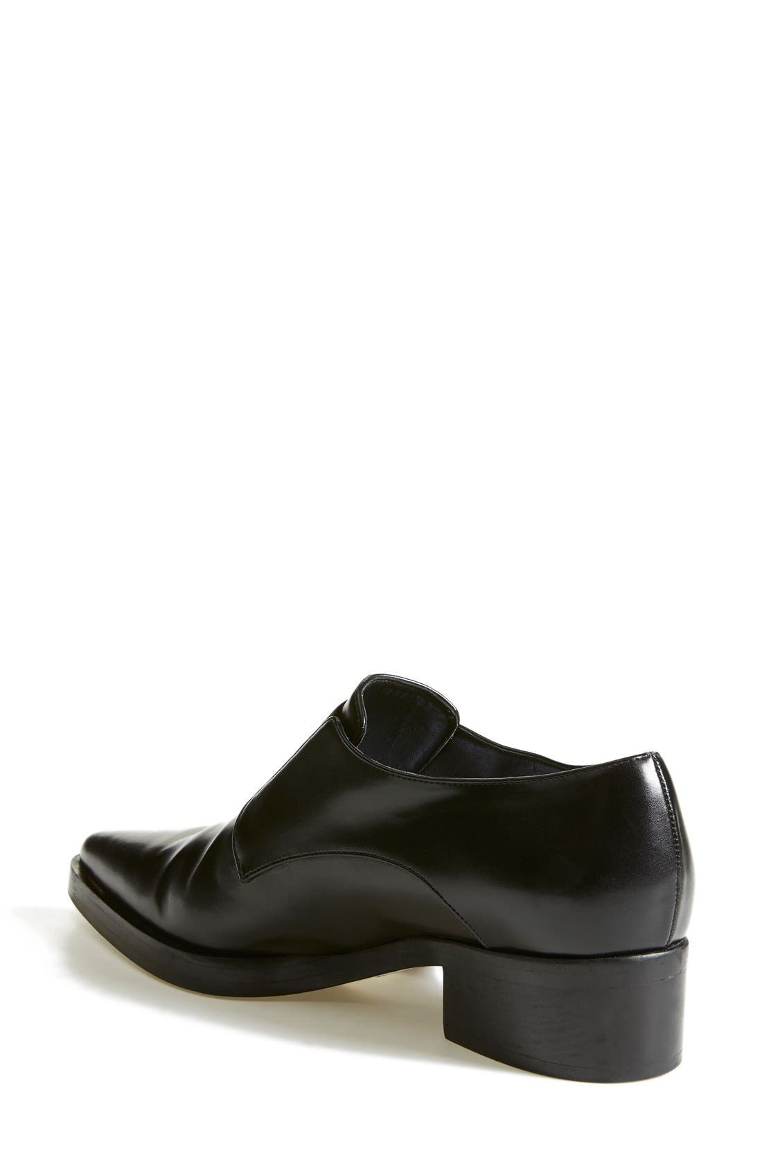 Alternate Image 2  - Stella McCartney Pointy Toe Loafer Flat (Women)