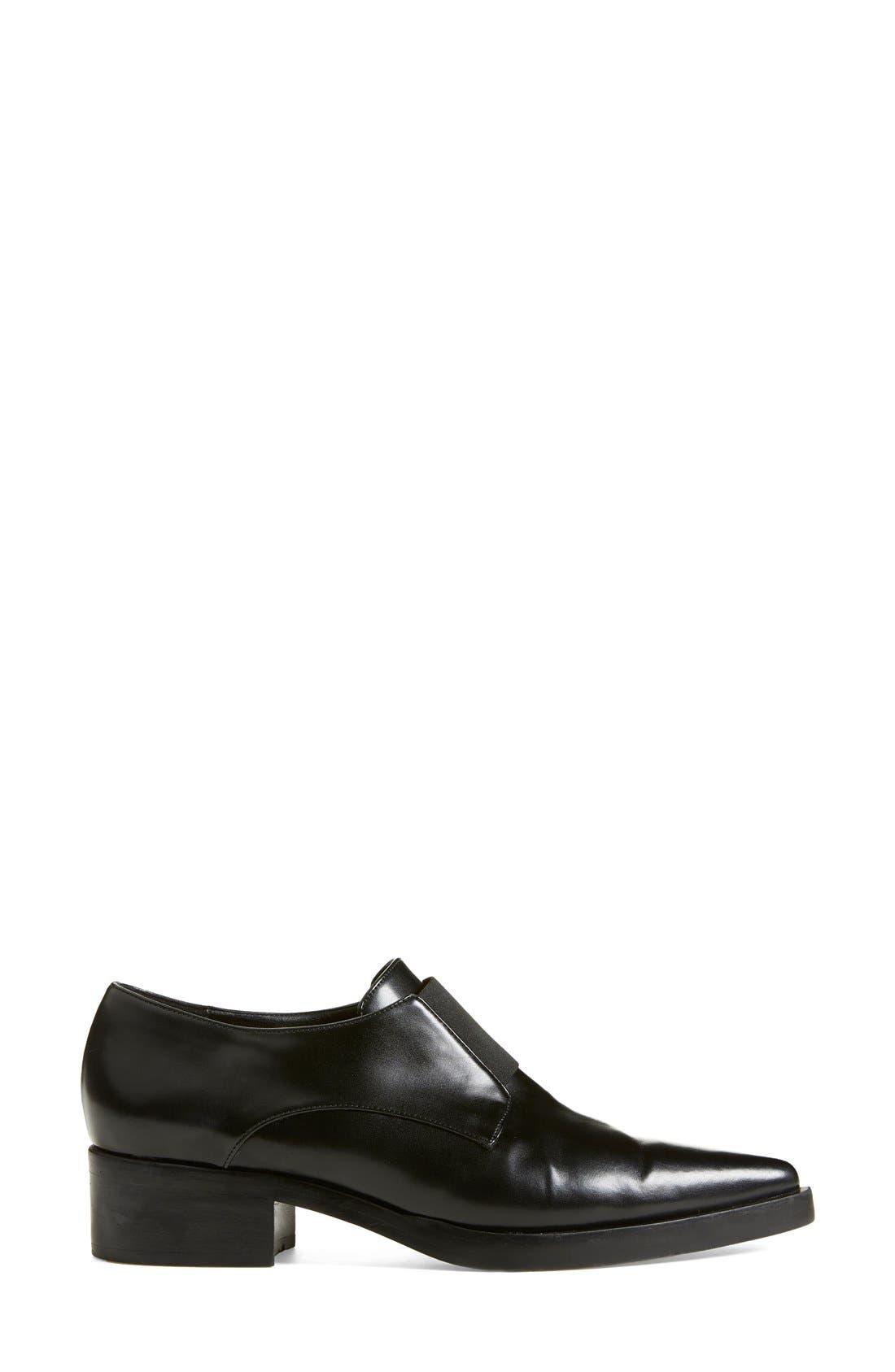 Alternate Image 4  - Stella McCartney Pointy Toe Loafer Flat (Women)
