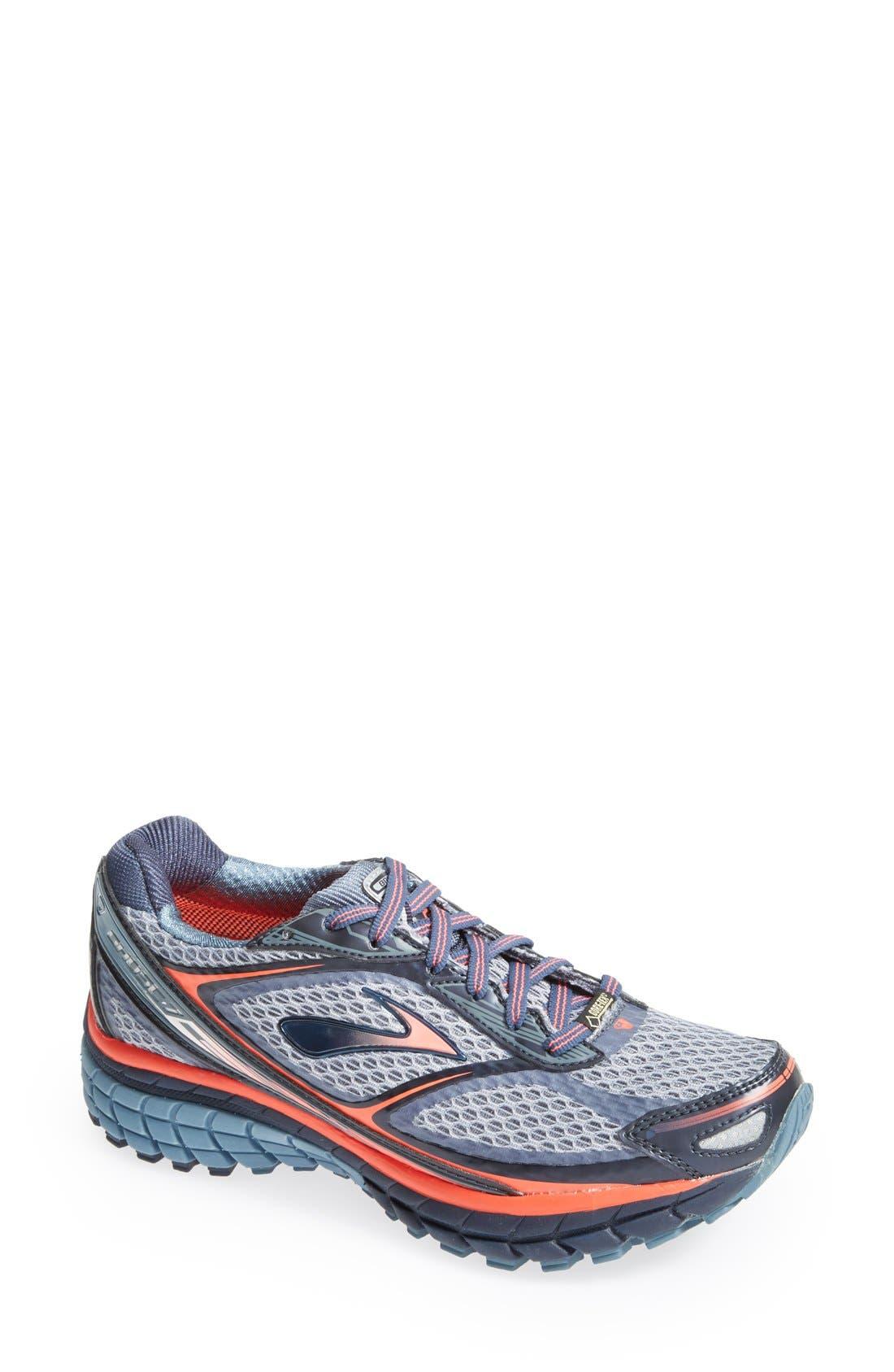 Main Image - Brooks 'Ghost 7 GTX' Waterproof Running Shoe (Women)