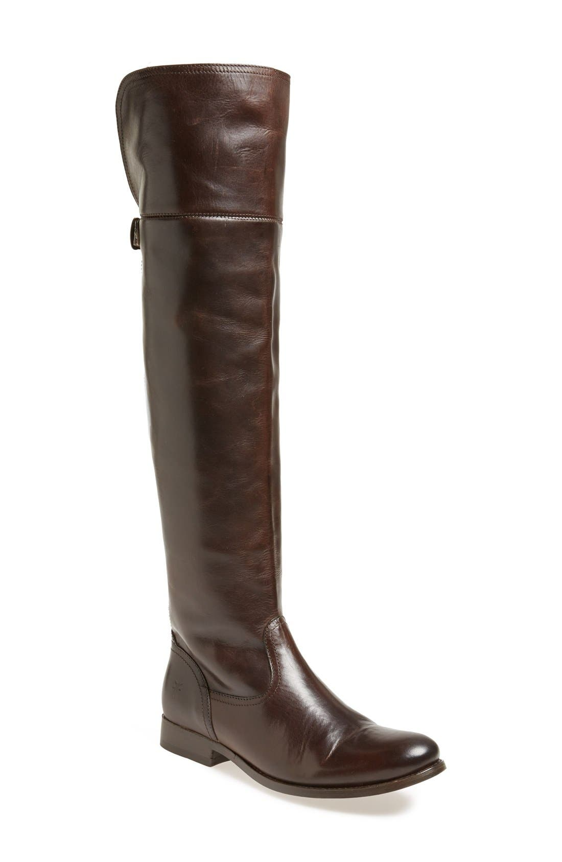 Main Image - Frye 'Melissa' Over the Knee Boot