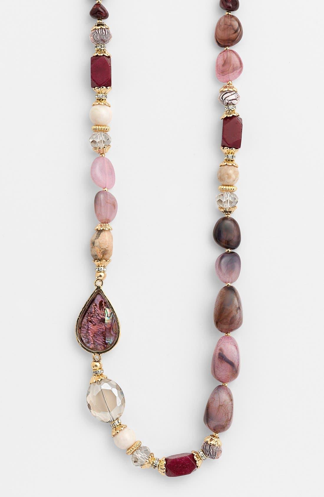 Alternate Image 2  - Sara Bella Bead Necklace