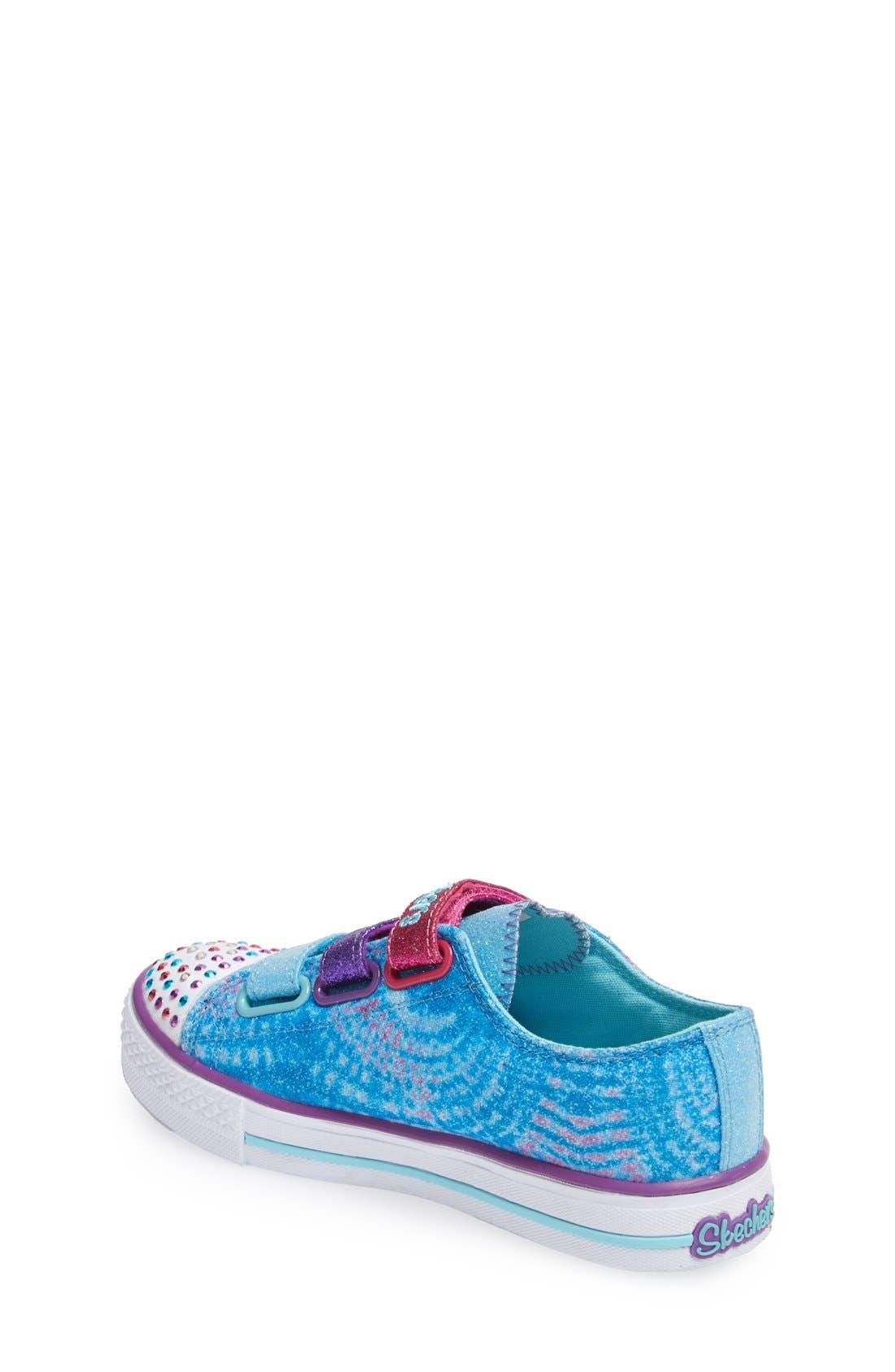 Alternate Image 2  - SKECHERS 'Twinkle Toes' Light-Up Sneaker (Toddler & Little Kid)