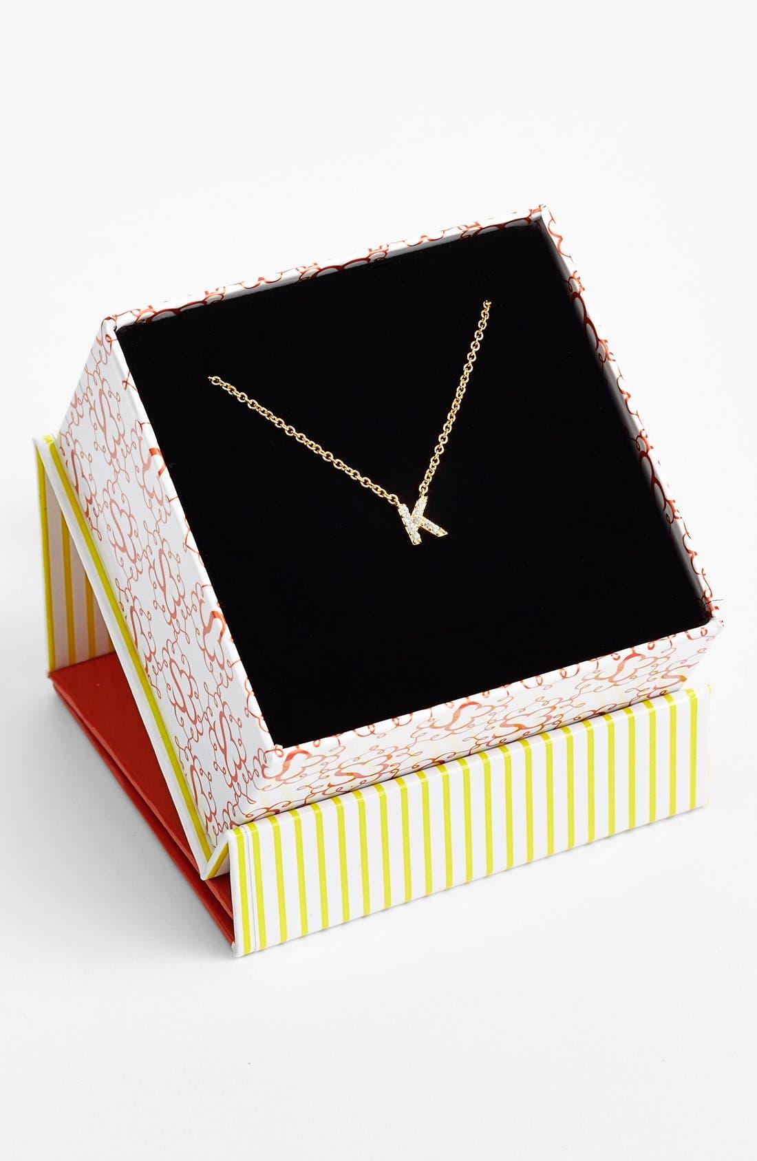 Alternate Image 2  - Sugar Bean Jewelry 'Initial' Pendant Necklace