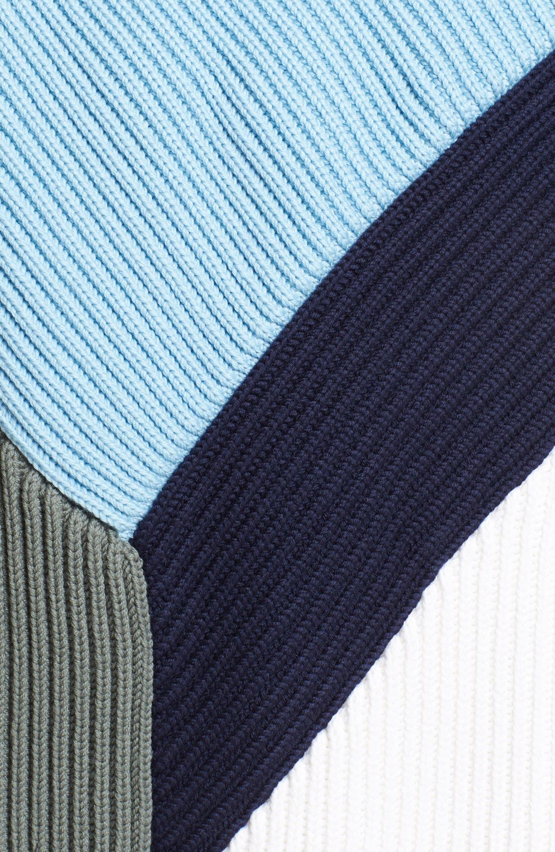 Alternate Image 4  - Prabal Gurung Colorblock Chunky Knit Sweater