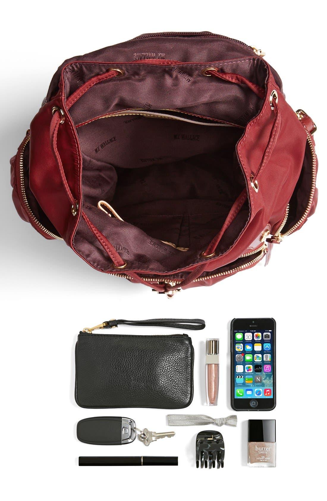 Alternate Image 5  - MZ Wallace 'Marlena' Nylon Backpack