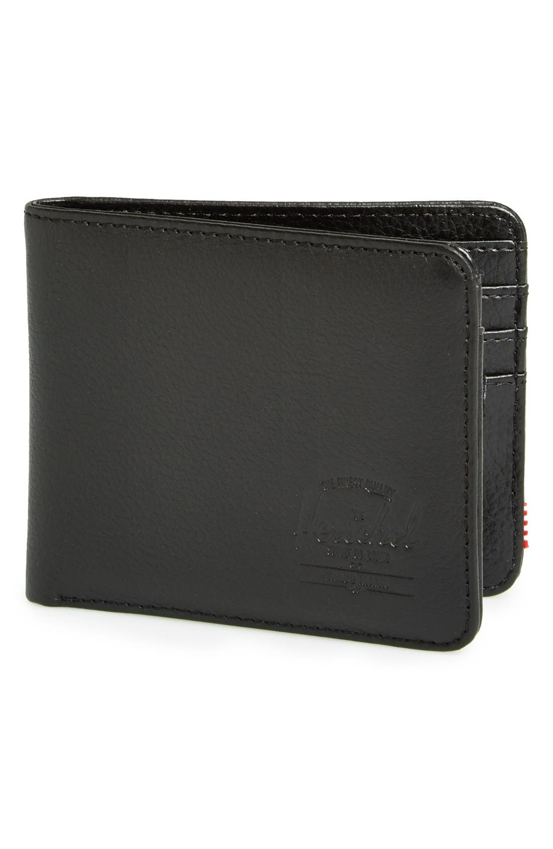 Alternate Image 1 Selected - Herschel Supply Co. 'Hank' Leather Bifold Wallet