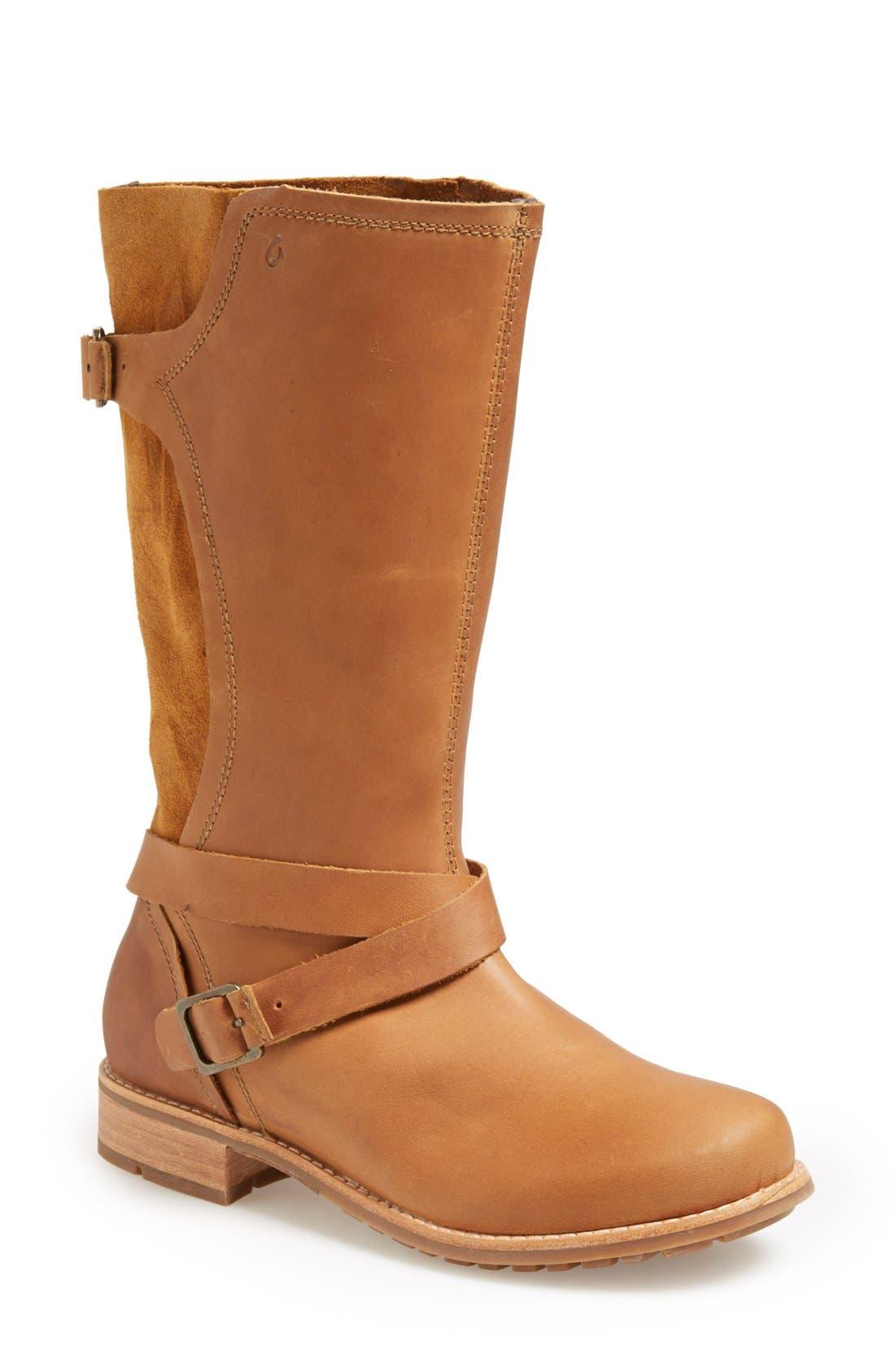 Main Image - OluKai 'Pa'ai' Leather Boot (Women)