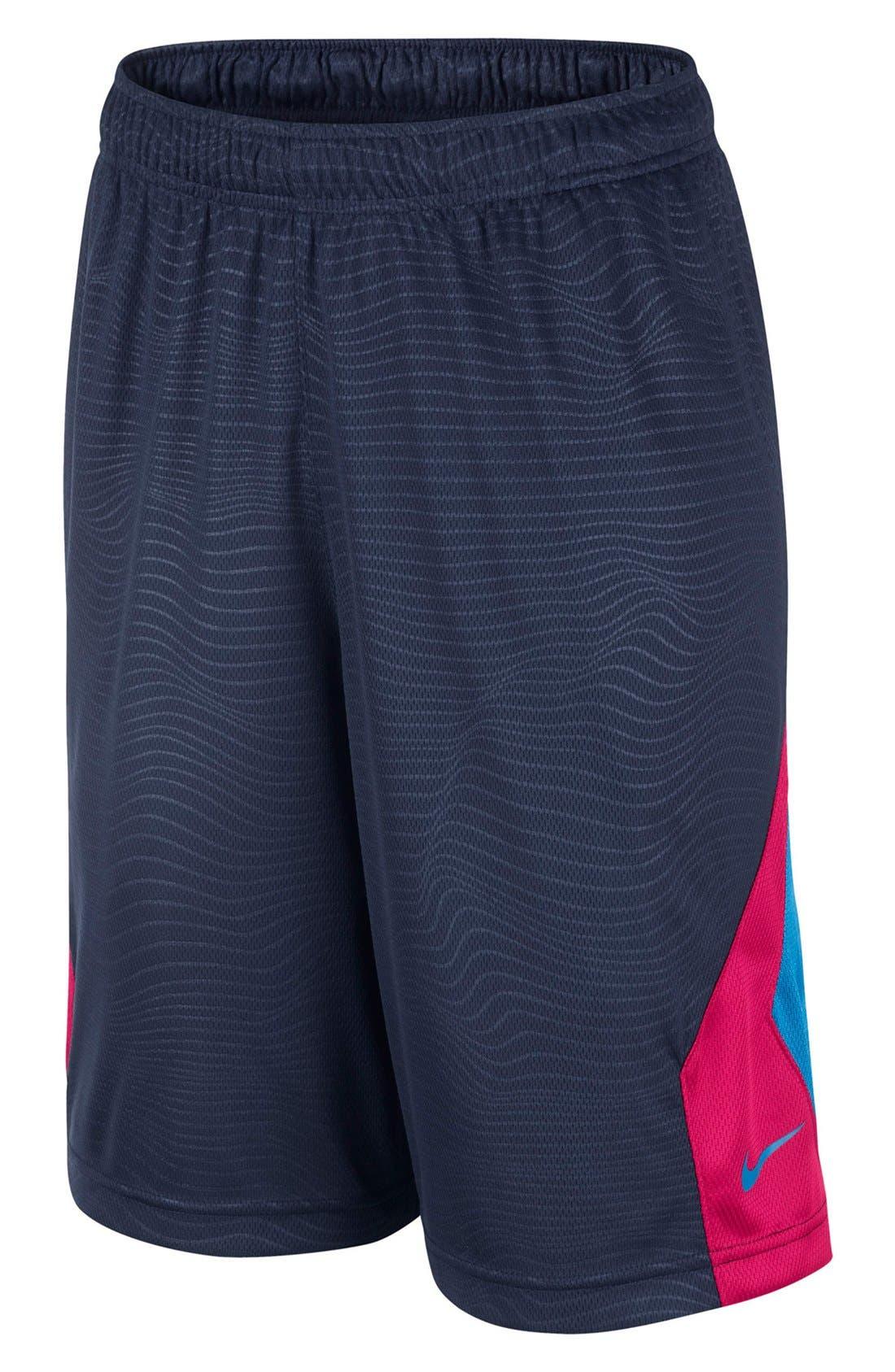 Alternate Image 1 Selected - Nike 'KD Essential' Dri-FIT Basketball Shorts (Big Boys)
