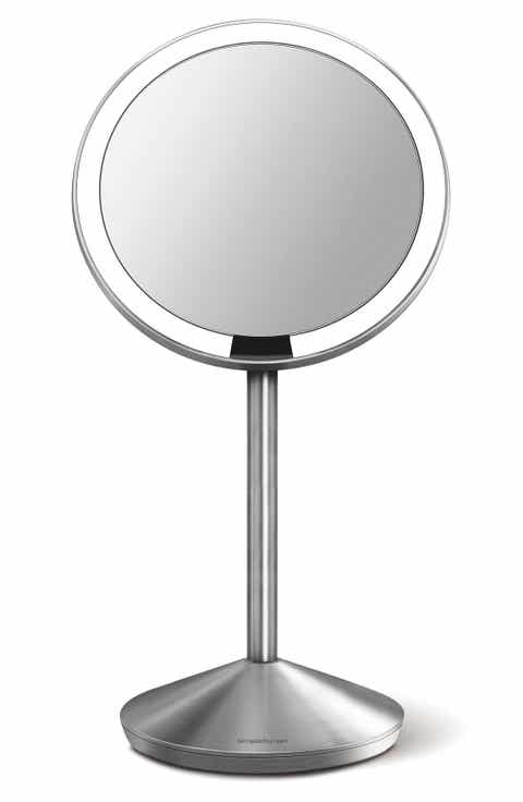 simplehuman Mini Countertop Sensor Makeup Mirror (5 Inch)