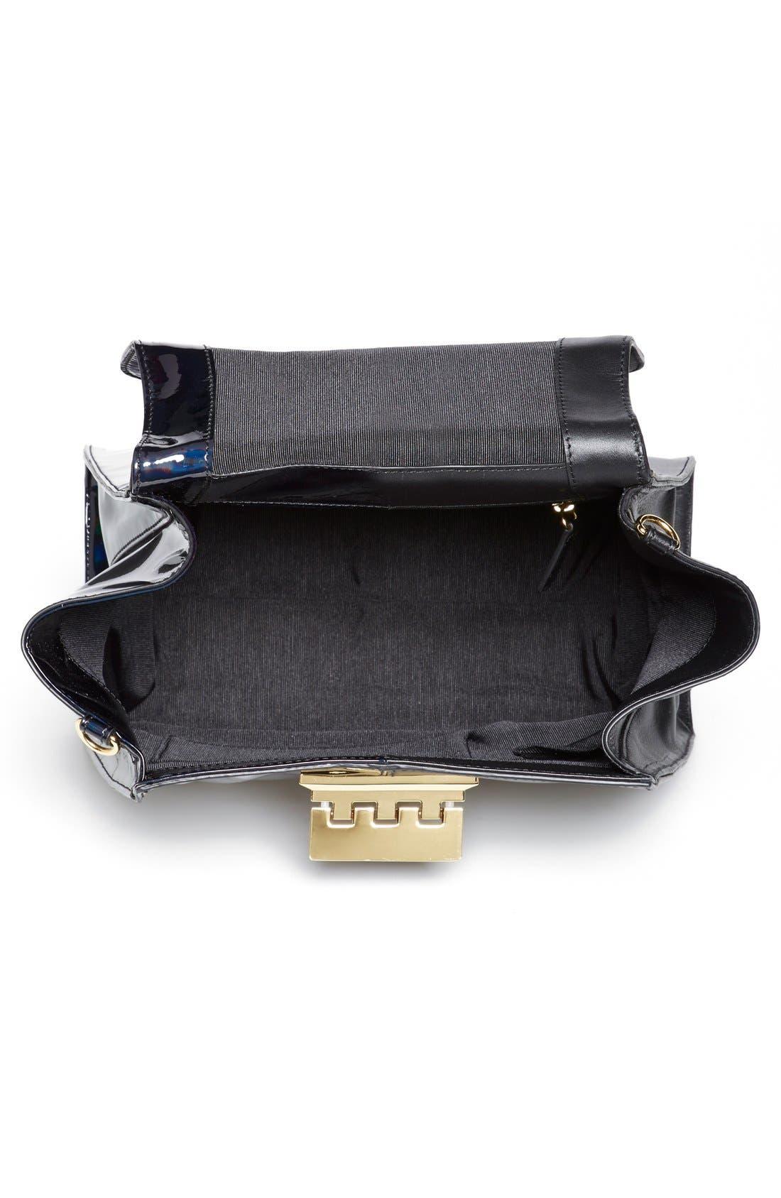 Alternate Image 3  - ZAC Zac Posen 'Eartha - Split' Patent & Leather Top Handle Satchel