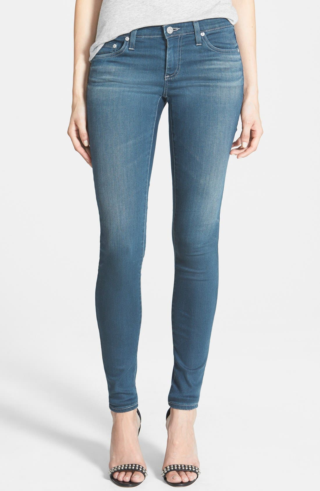 Alternate Image 1 Selected - AG 'The Legging' Skinny Jeans (3Y Windstorm)