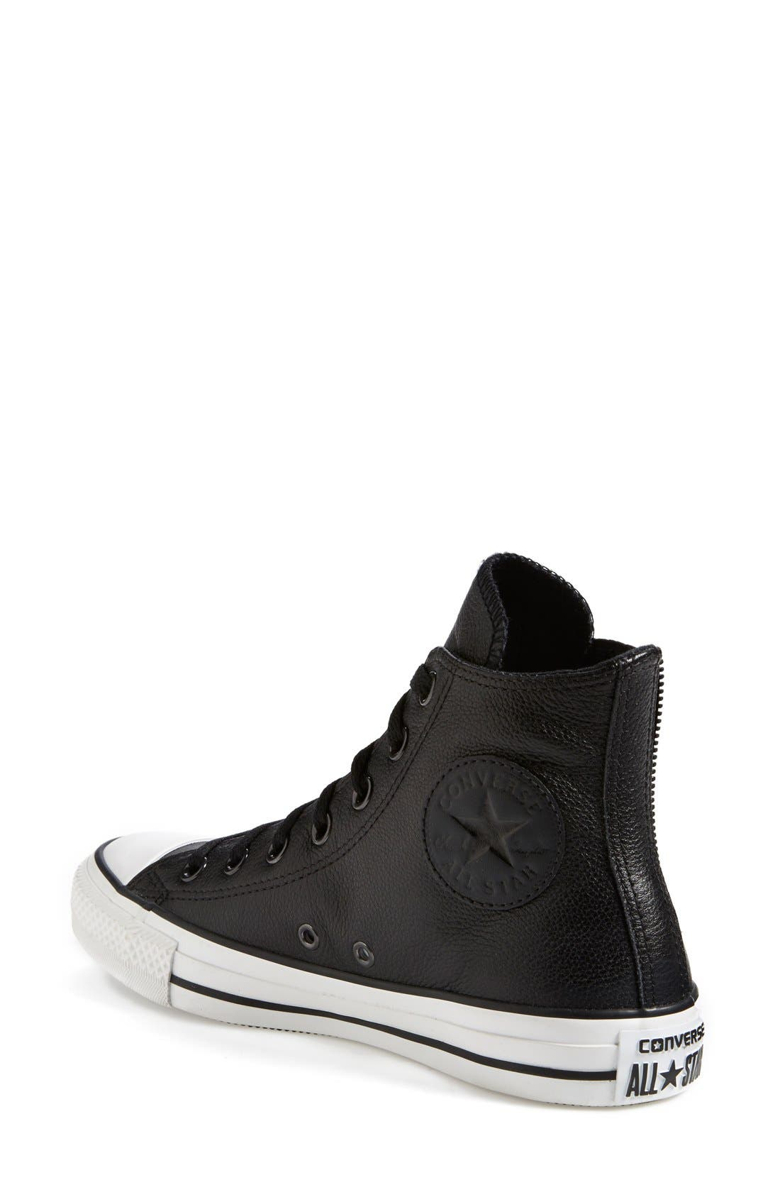 Alternate Image 2  - Converse Chuck Taylor® All Star® 'Chelsee' Leather Sneaker (Women) (Nordstrom Exclusive)
