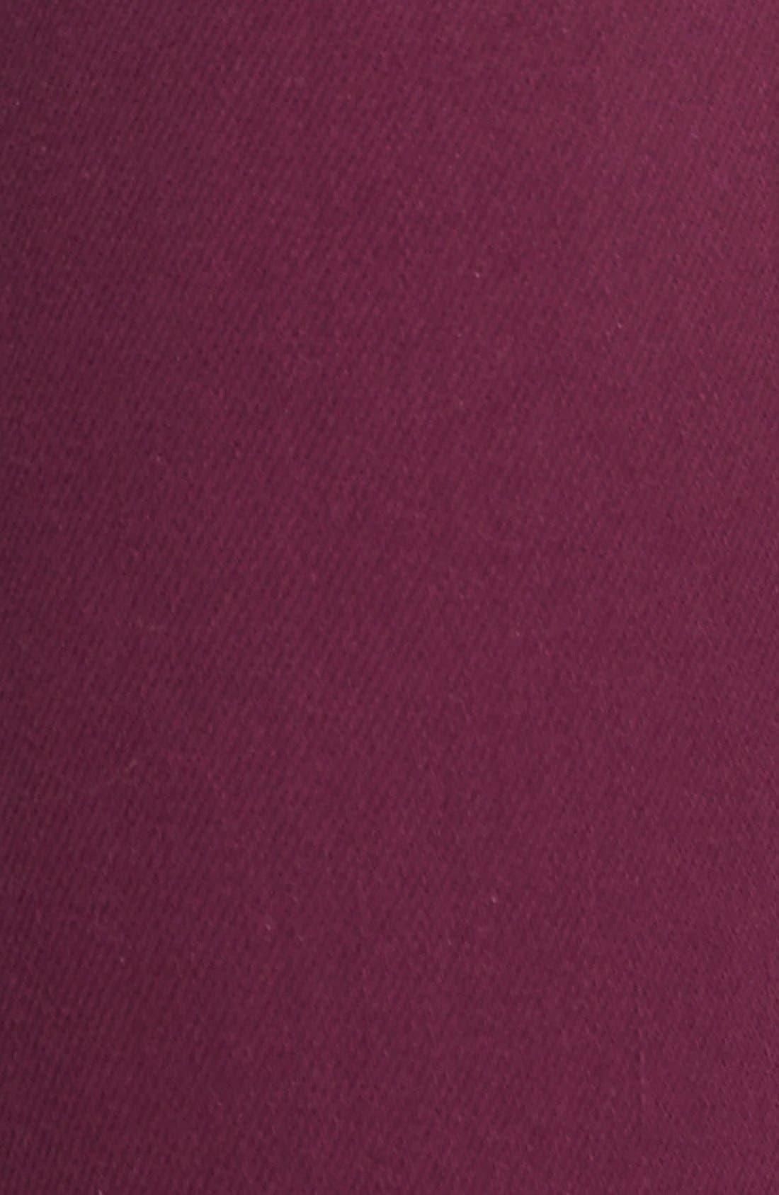 Alternate Image 3  - Paige Denim 'Hoxton' Ultra Skinny Jeans (Passion Plum)