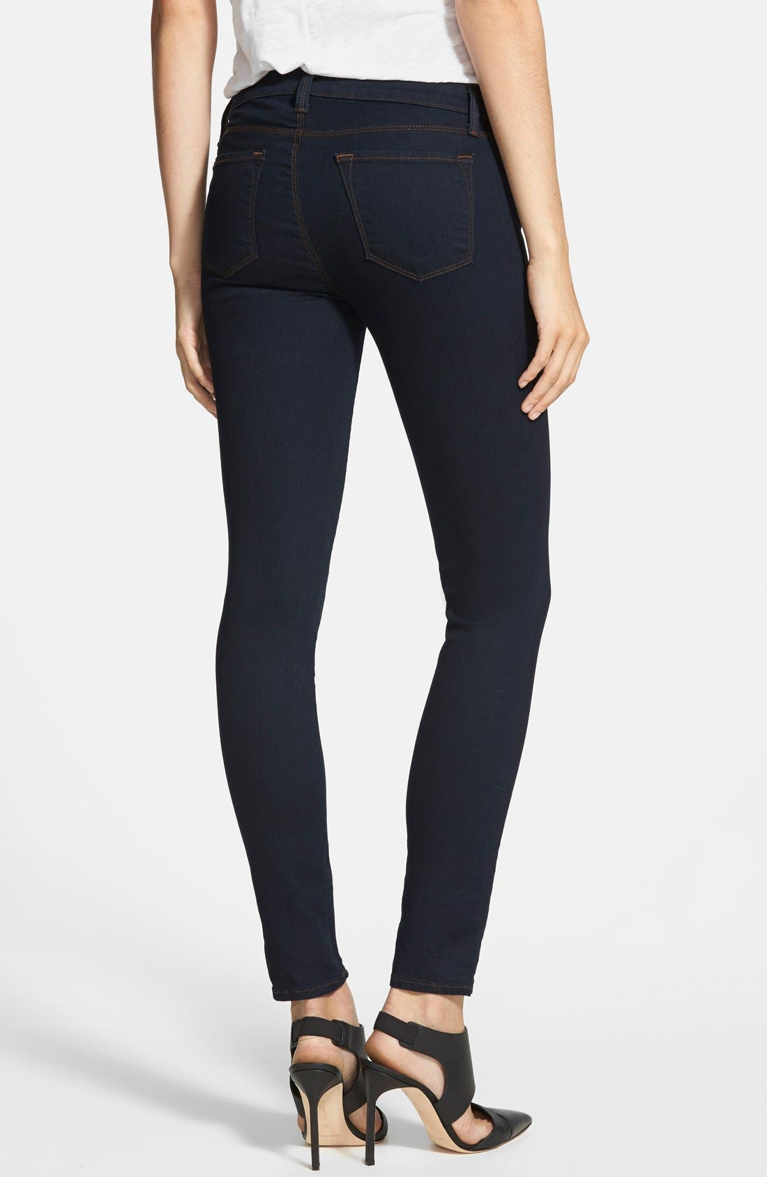 Alternate Image 2  - J Brand '811' Ankle Skinny Jeans (Ink)