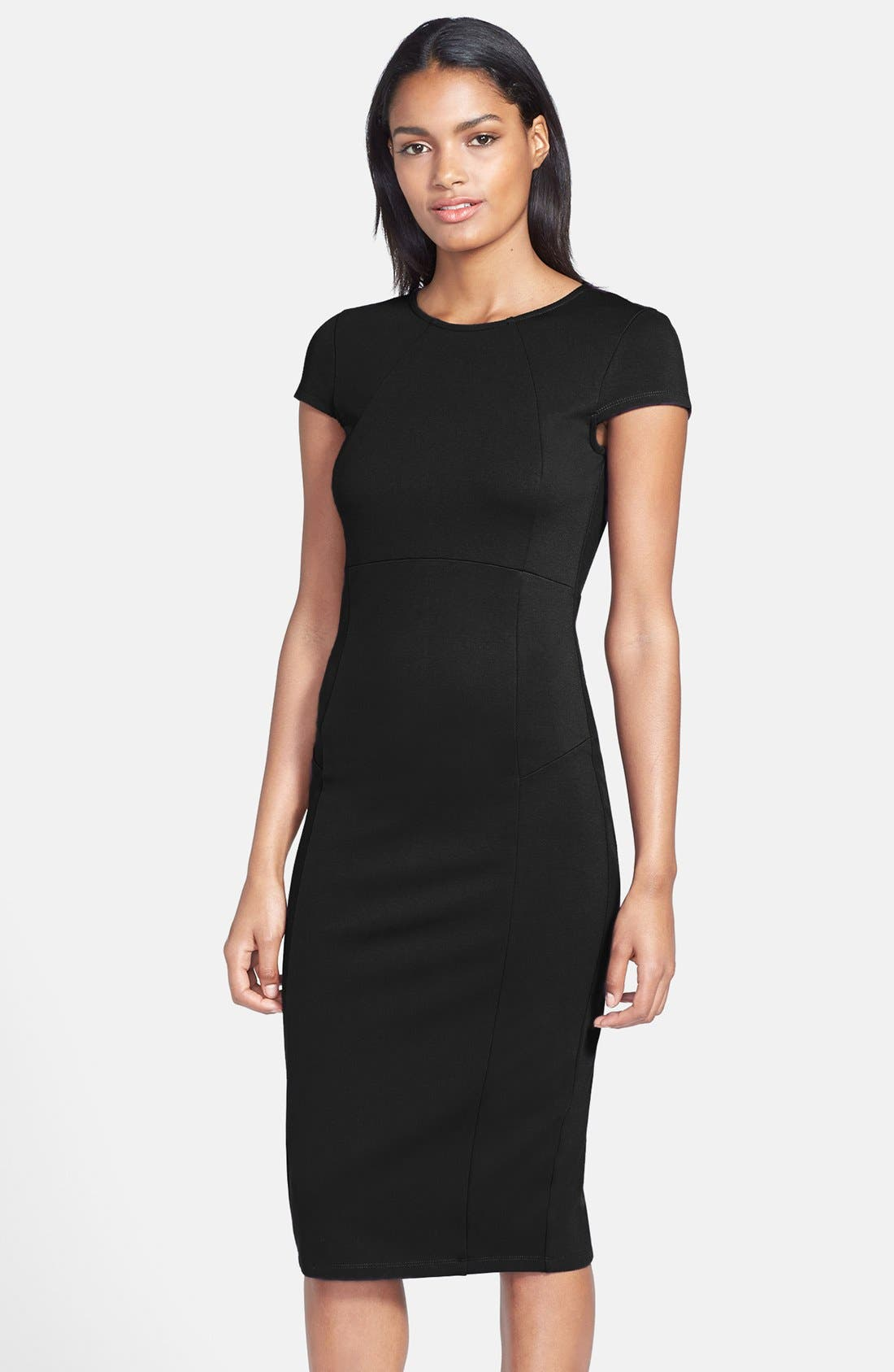 Alternate Image 1 Selected - Felicity & Coco Ward Seamed Pencil Dress (Regular & Petite) (Nordstrom Exclusive)