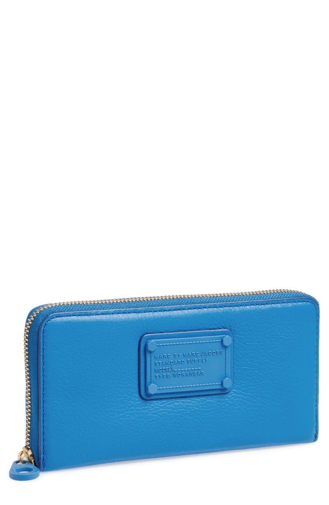 Alternate Image 1 Selected - MARC BY MARC JACOBS 'Electro Q - Vertical Zippy' Leather Wallet