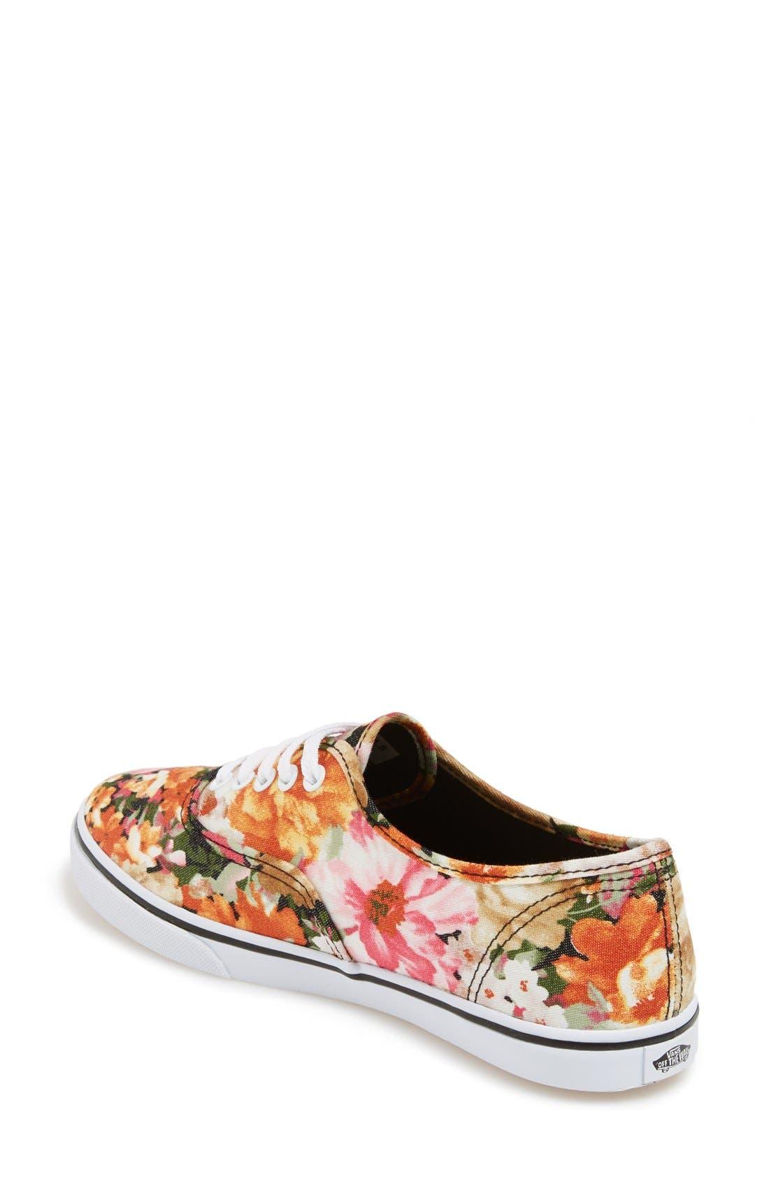 Alternate Image 2  - Vans 'Authentic Lo Pro - Floral' Sneaker (Women)