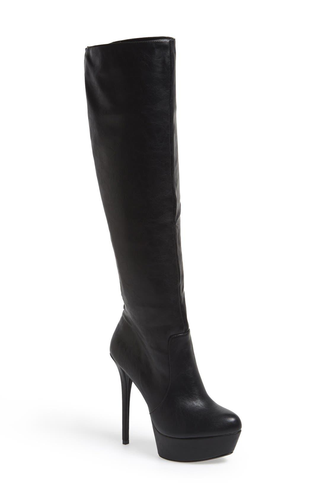 Alternate Image 1 Selected - Steve Madden 'Animall' Platform Boot (Women)